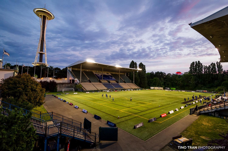 Seattle Cascades home game venue: Memorial Stadium!