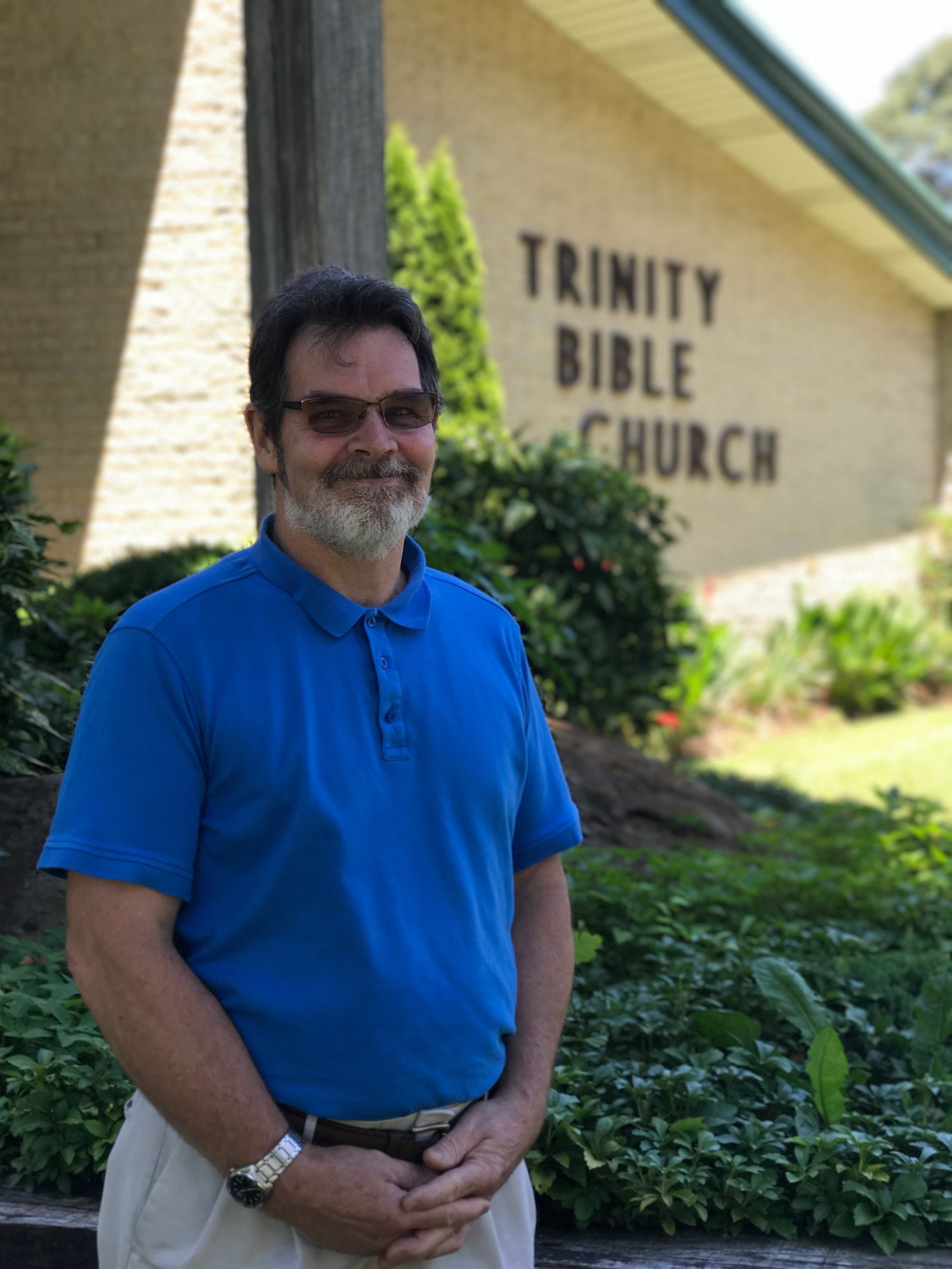 Dale Lewis became a Christian as a child. Along with his wife Lee they have served in children's ministries and nursing homes for over 20 years. They have lived in Severna Park since 1985. Dale has served as trustee, usher, and deacon and enjoys the men's bible study and men's ministries.