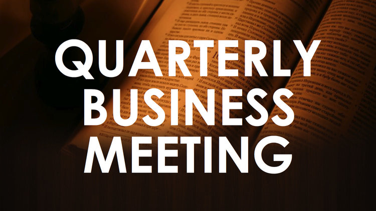 Stay Informed... - Missed the last business meeting? Trying to remember what was discussed? Don't worry! Below you will find a link to the presentations slides used during the meeting. It contains all the info that was discussed during the meeting. You can access the presentation here