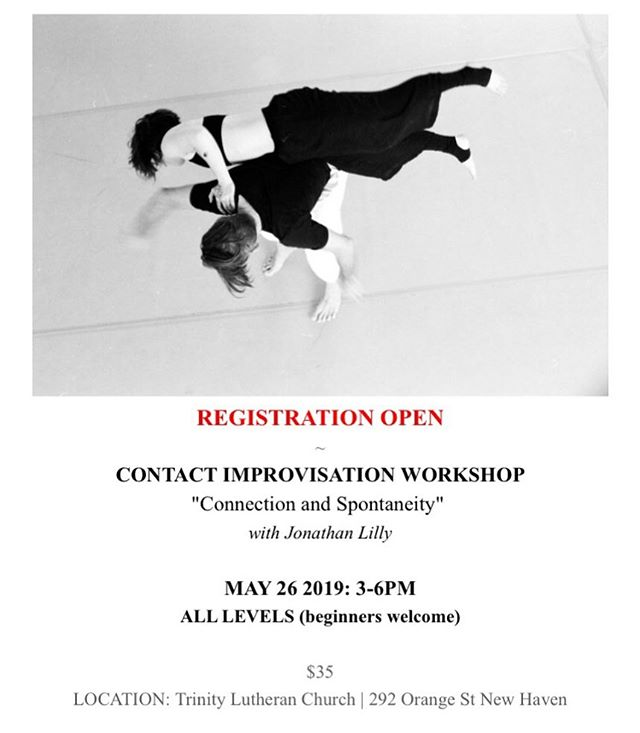 Sunday, May 26 // 3-6pm! Hope to see you there! . . #ecdc #ciworkshop #newhavendance