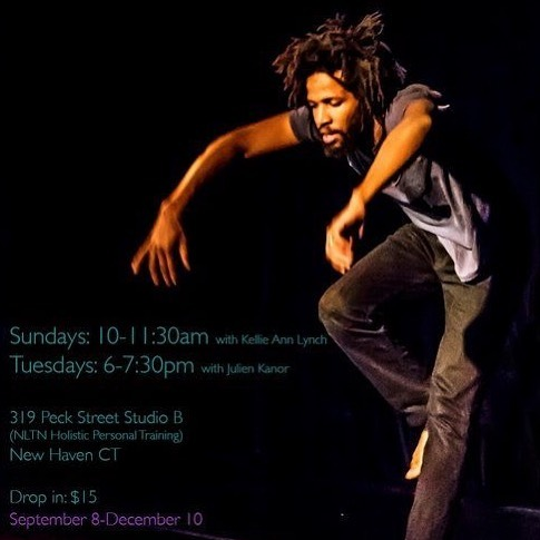 Tomorrow -- Sunday, Sep 8th -- Kellie starts teaching! 10-11:30am. NLTN (@nltnct) studio. Please come dance! // 319 Peck St Erector Square. New Haven (Fresh Yoga is a landmark). Plenty of parking. . . .#ecdc  @kellieannlynch