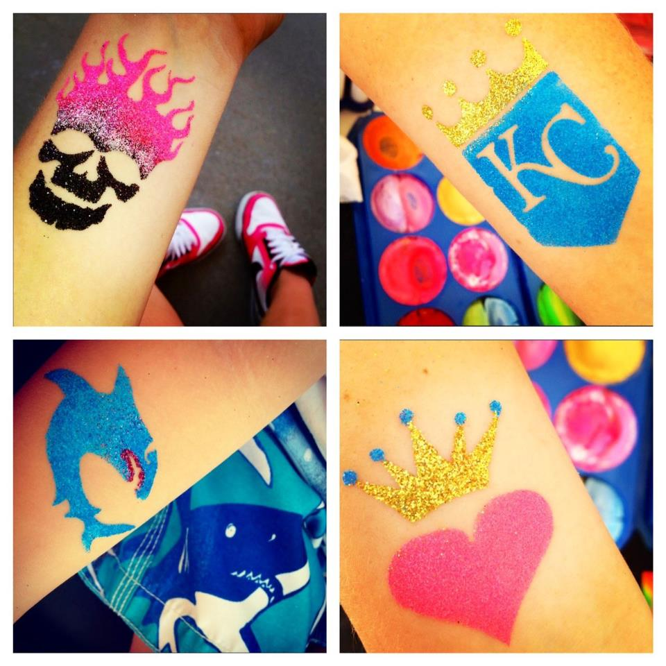 Sister-Act-KC-Glitter-tattoos