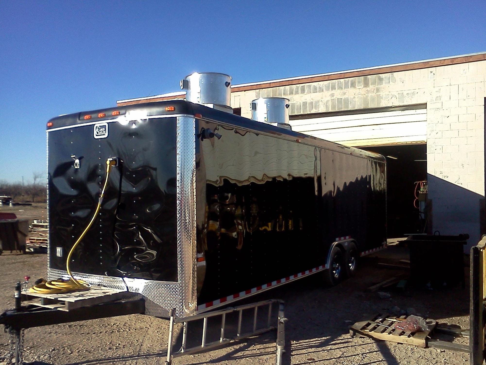 Texas concession trailer | www.txmobilekitchens.com