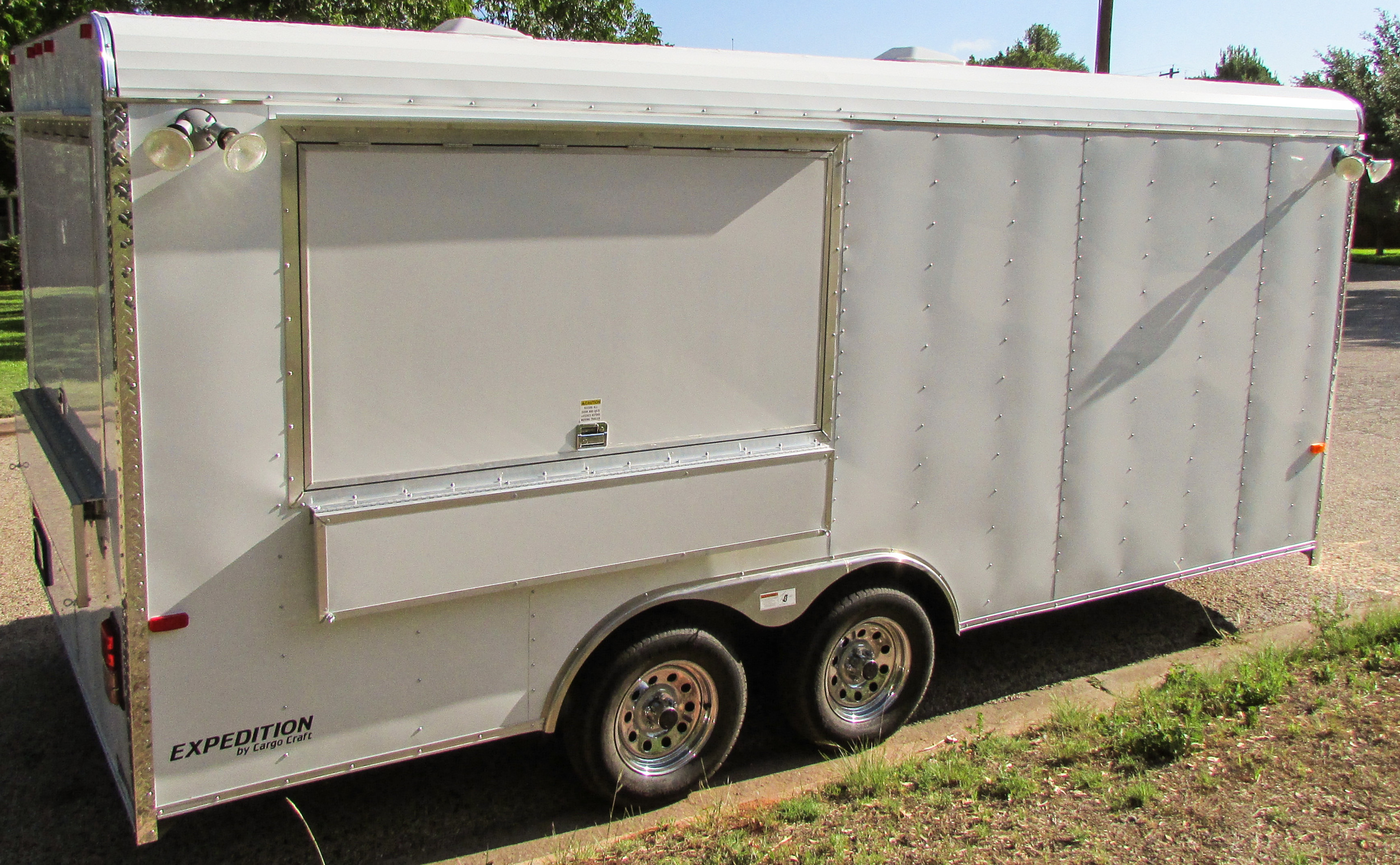 texas built concession trailers