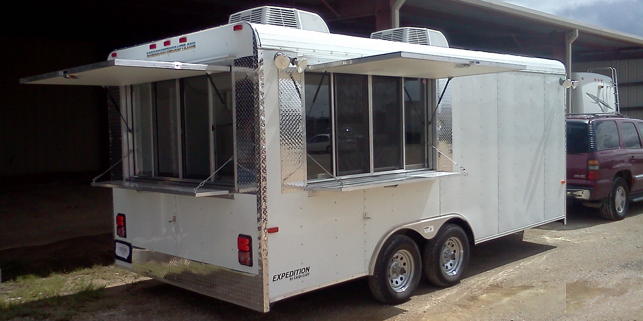 built in texas custom concession trailers