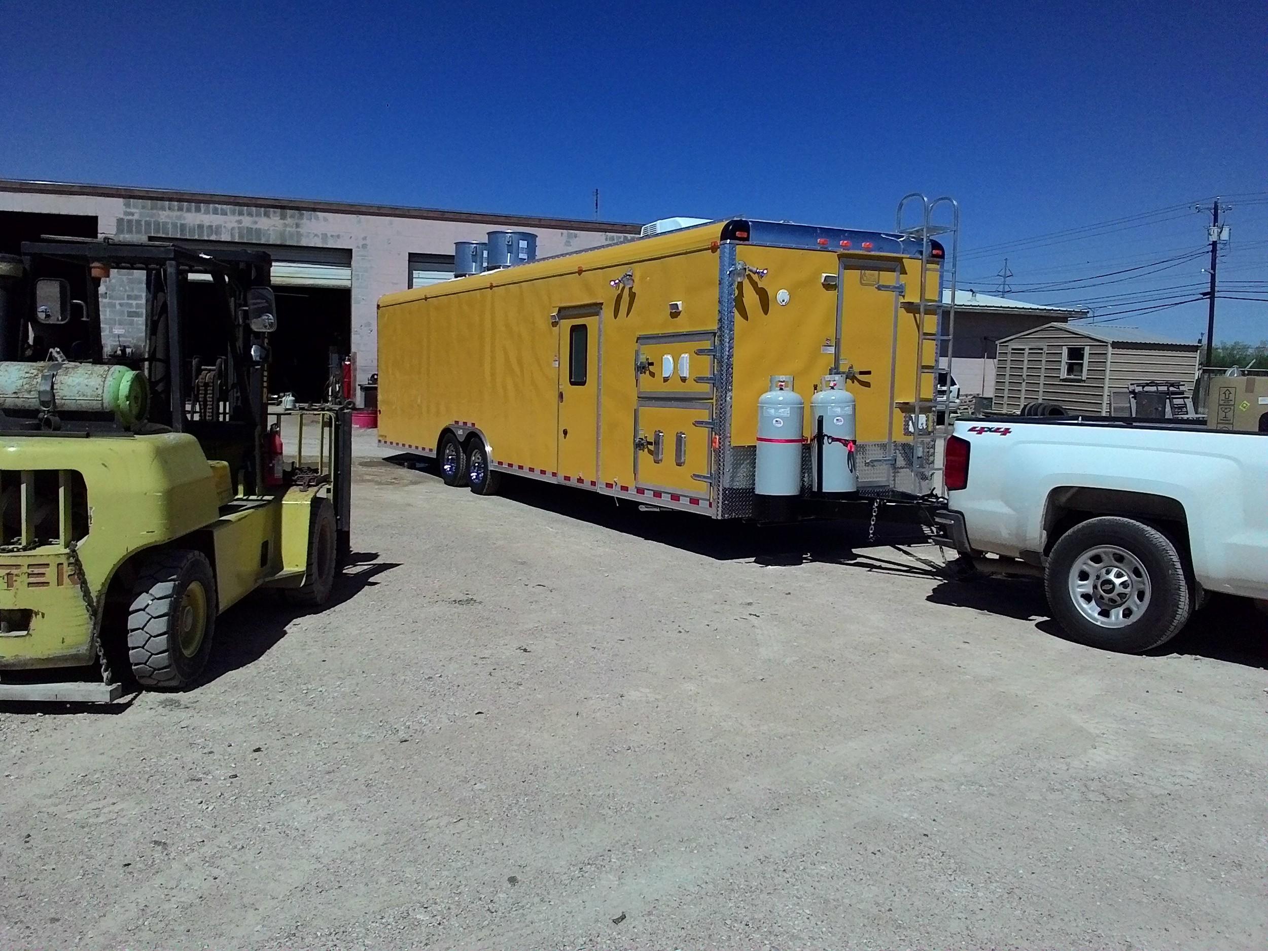 Custom Concession Trailers Texas