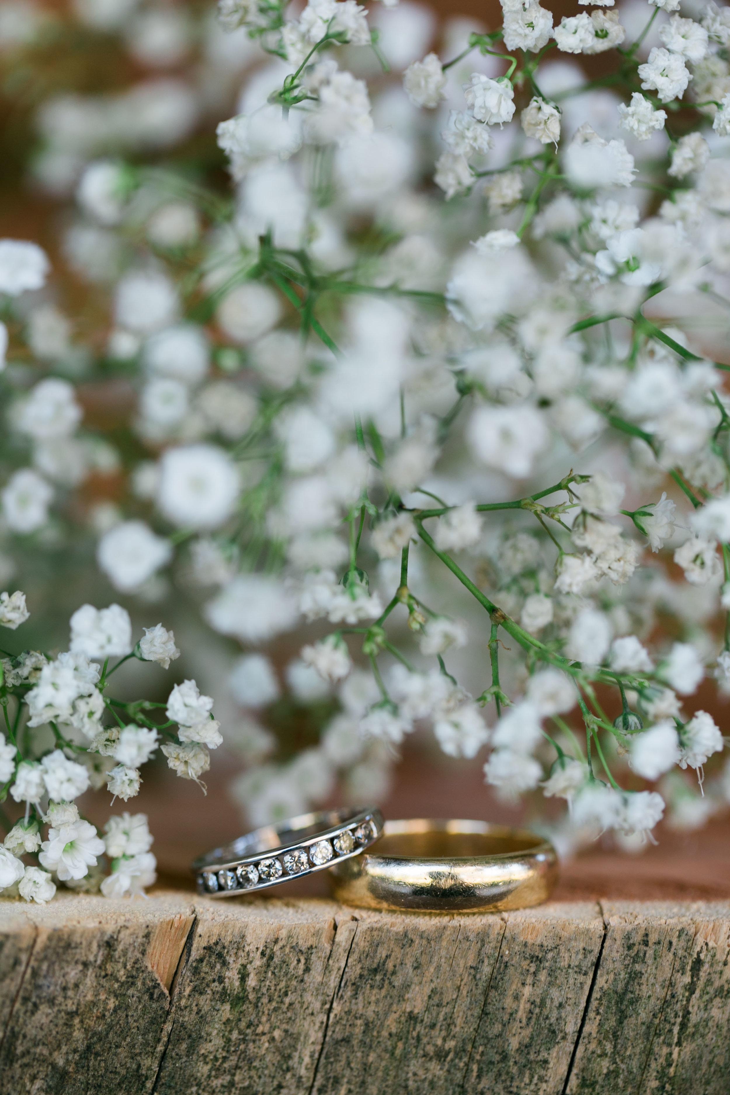 The Baca's wedding