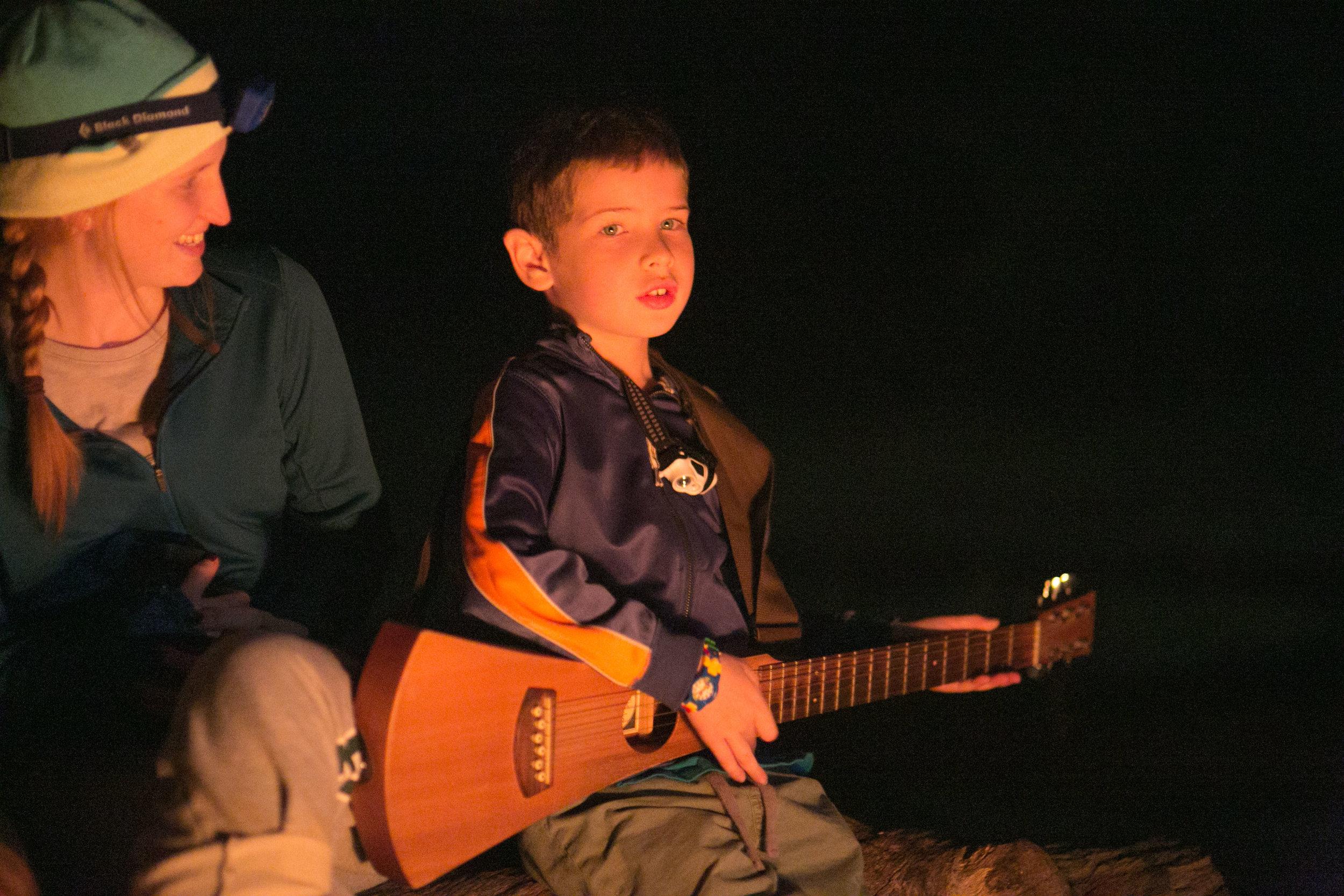Daniel did a great job on singing!