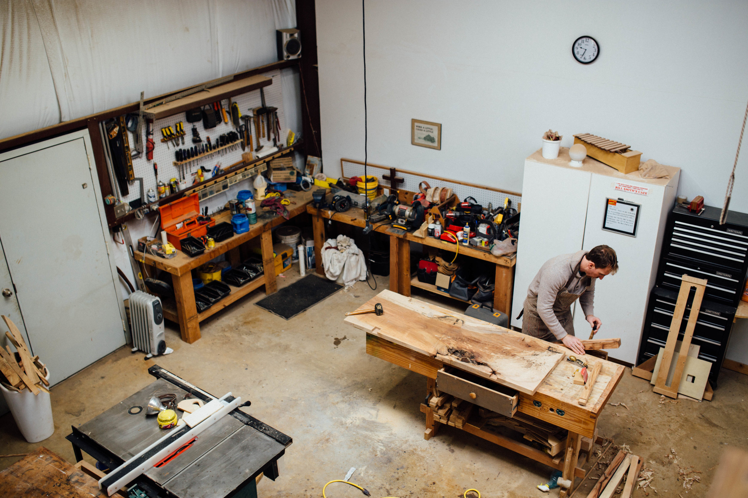 Daniel's studio