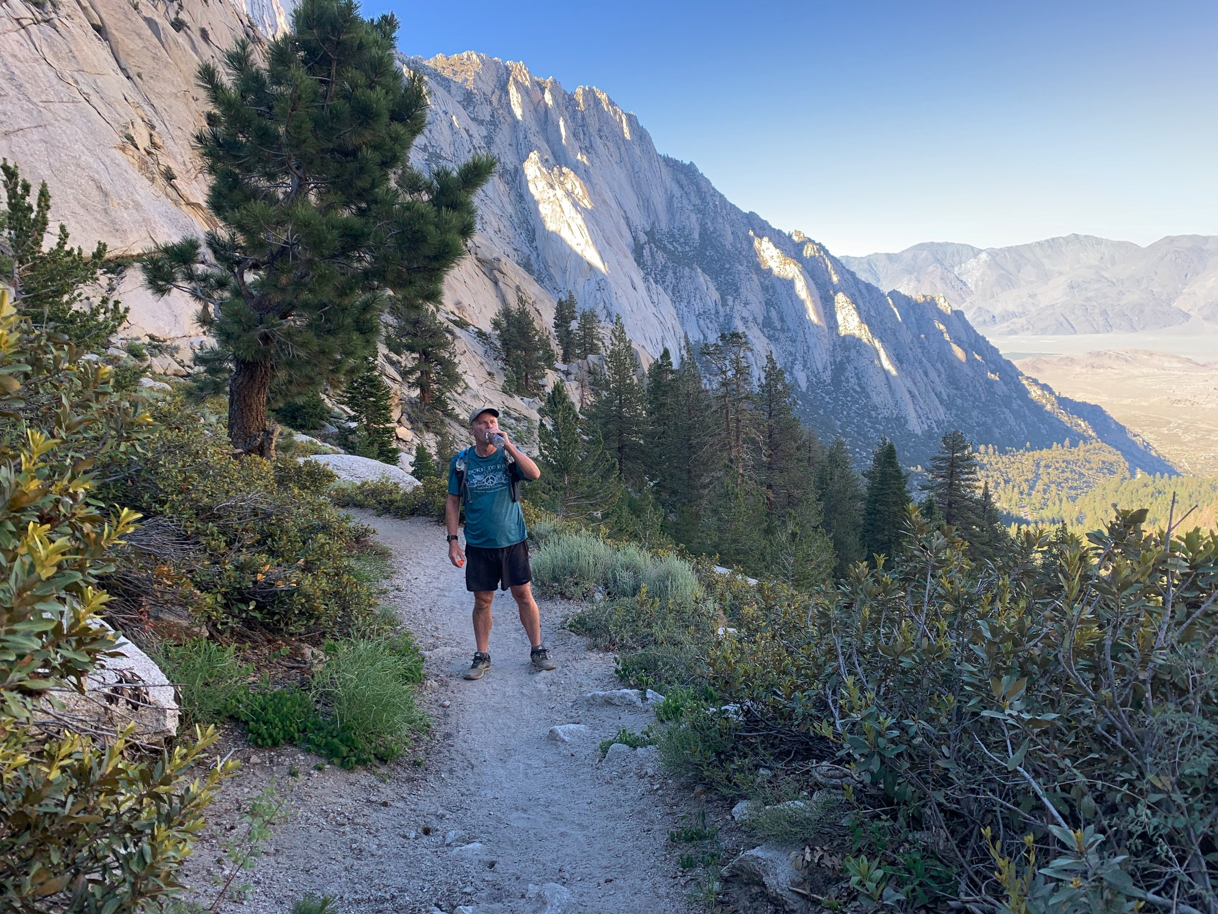 Jeff tells me his secret about summiting Mt Whitney 15 times.