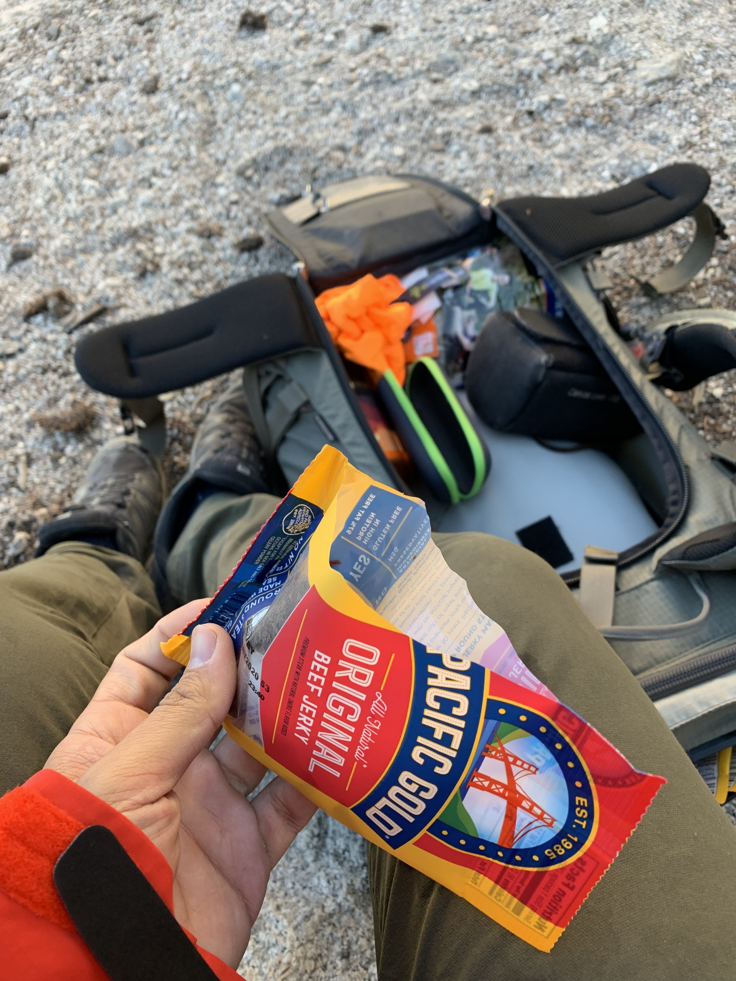 Jerky is my favorite snacks on trails.