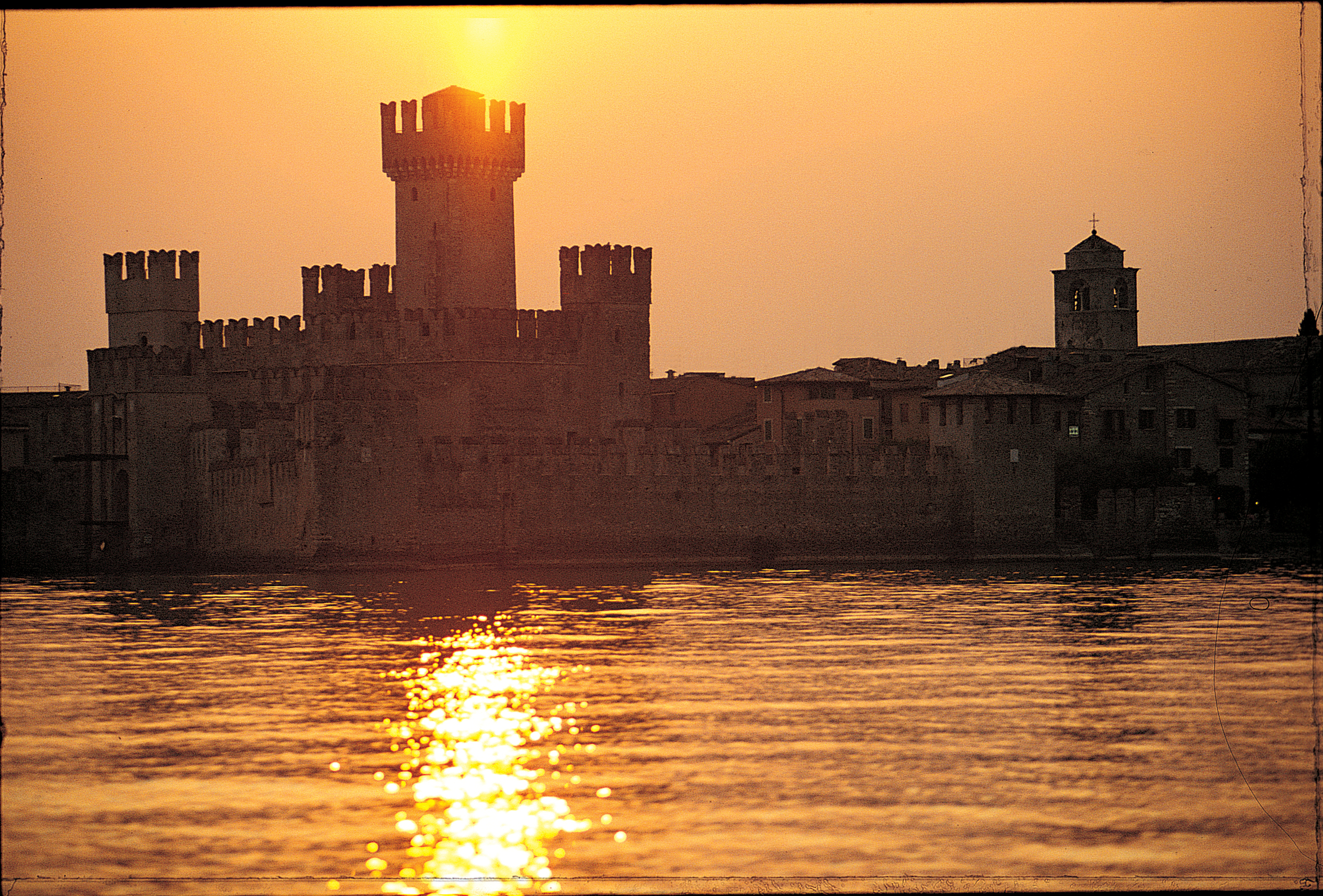 Sunset in Sirmione