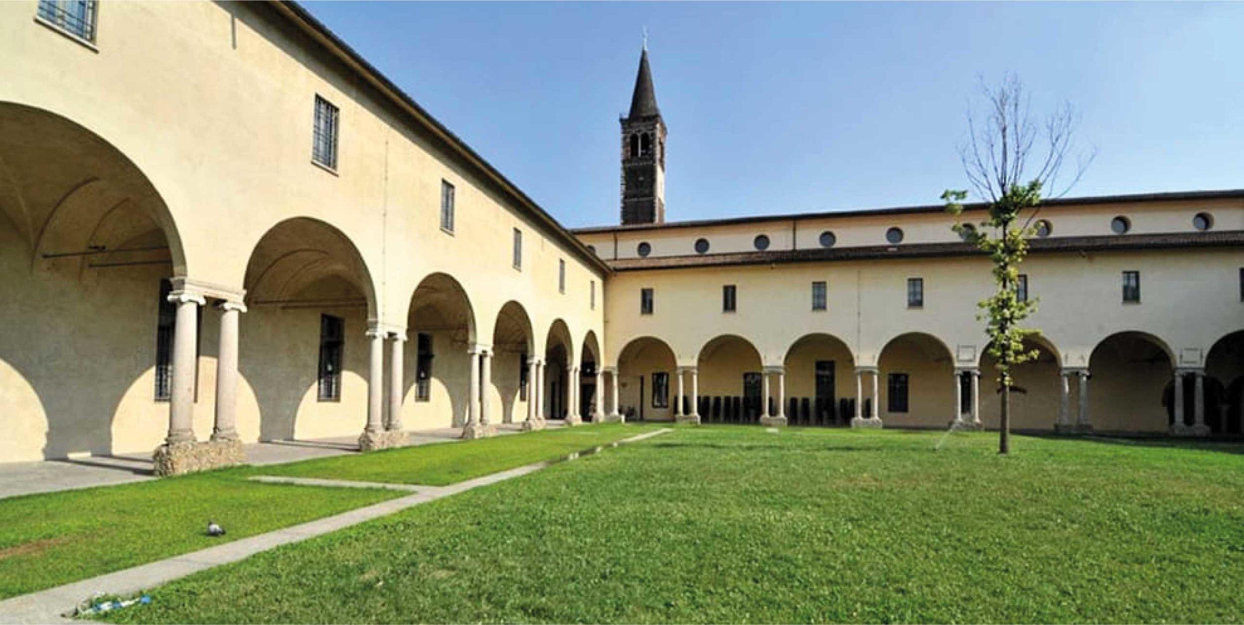 Chiostro della Basilica di Sant'Eustorgio, Milano