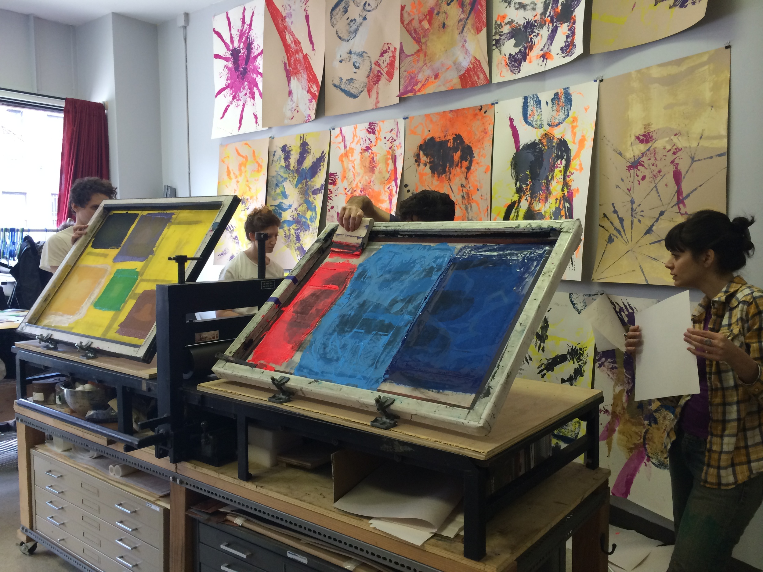 Screen Print Now! One Day Intensive Workshop at Shoestring Press