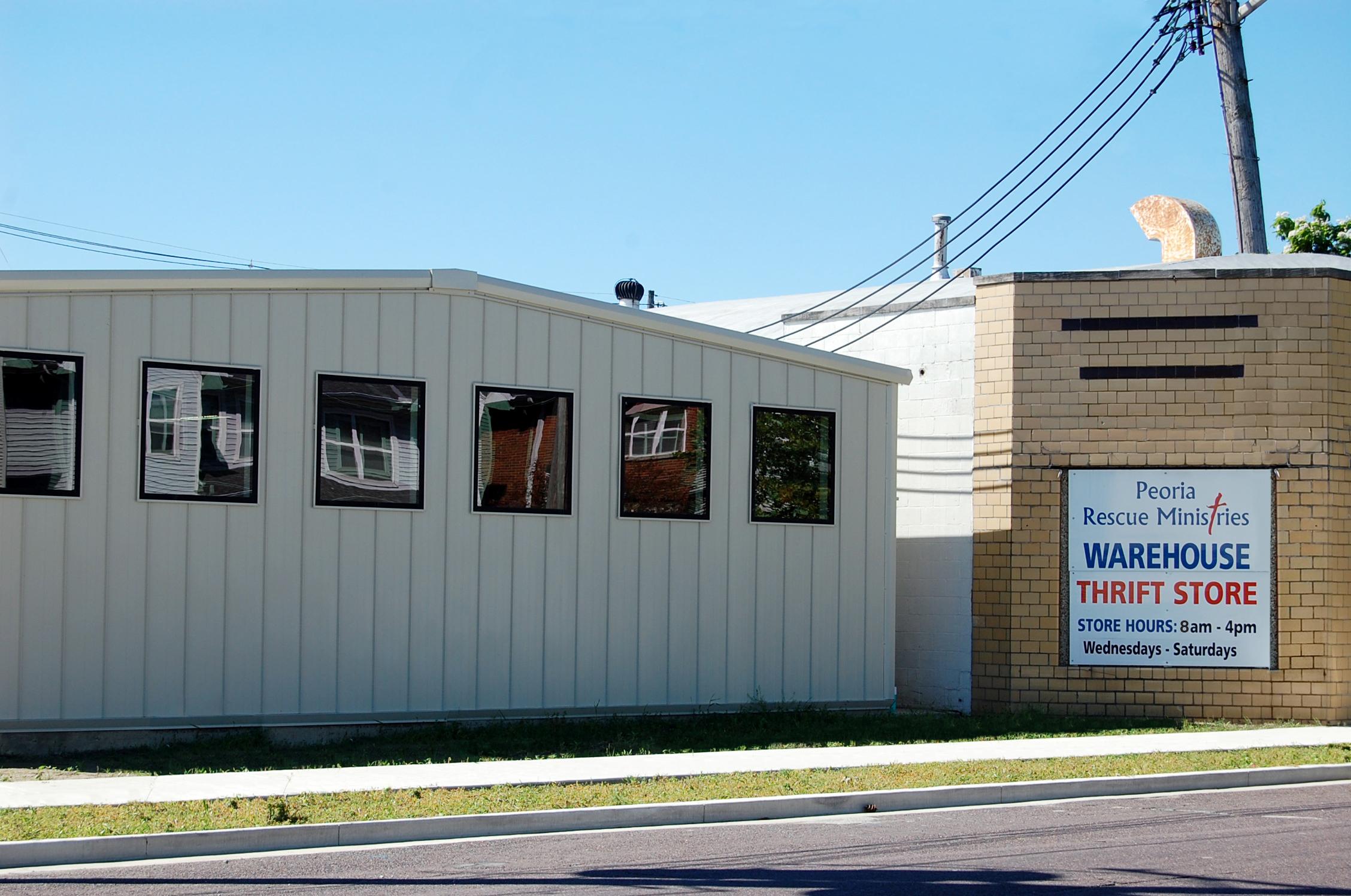 Thrift Store & Donation Center - 1114 SW Jefferson, Peoria IL 61605Phone: (309) 673-3688