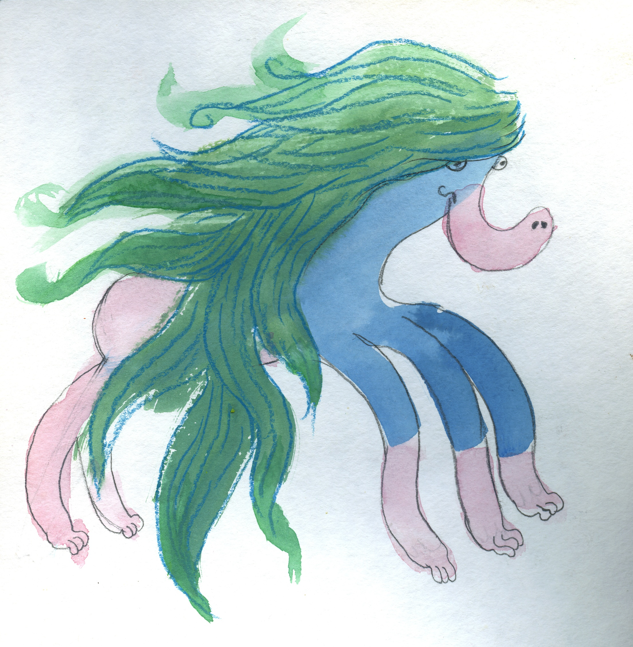Monster 4 Sketch