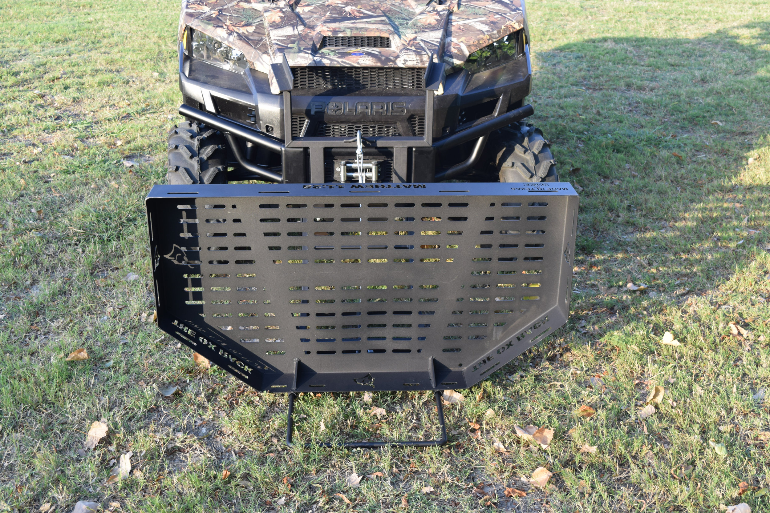 The Ox Rack will fit on any UTV.