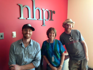 Luke, Will and Wally stopped by  New Hampshire Public Radio  for an in-studio performance and a little chit chat. Check out the audio on archive, and many thanks to NHPR's Folk Show for having us on!