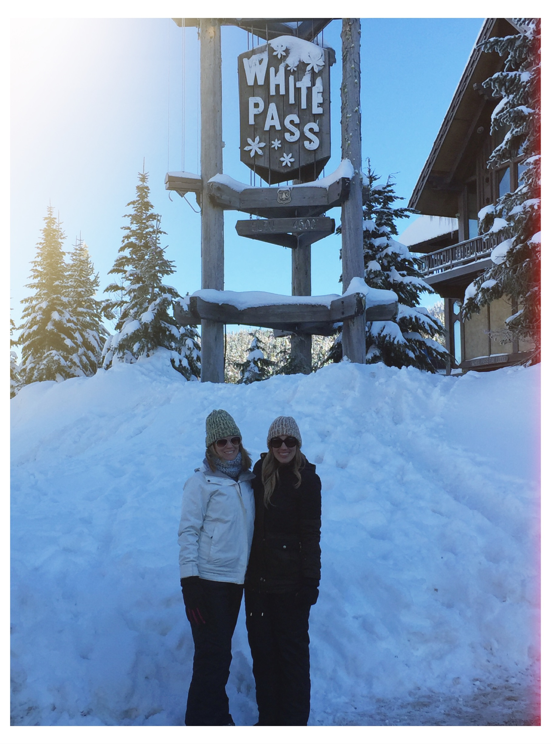 Even got to share this special day in the snow, with a dear friend. Happy New Year Everyone!