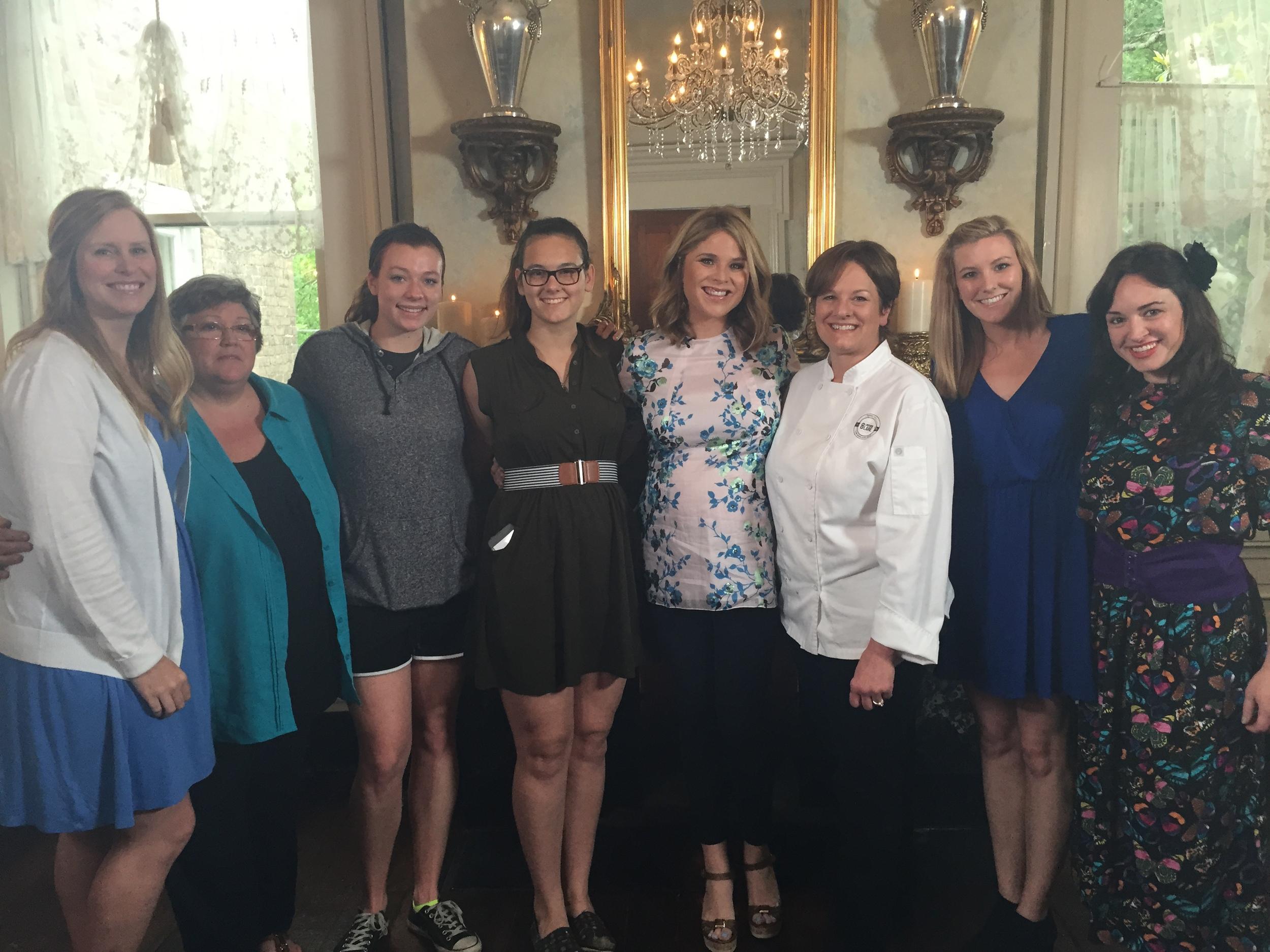 Staff with Jenna Bush Hager