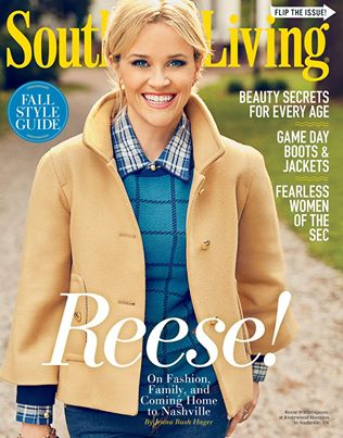 Southern Living Magazine Shoot: Behind the scenes with Reese Witherspoon