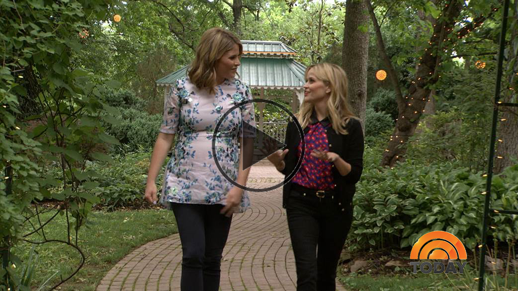 Reese Witherspoon Interview with Jenna Bush Hager on The Today Show