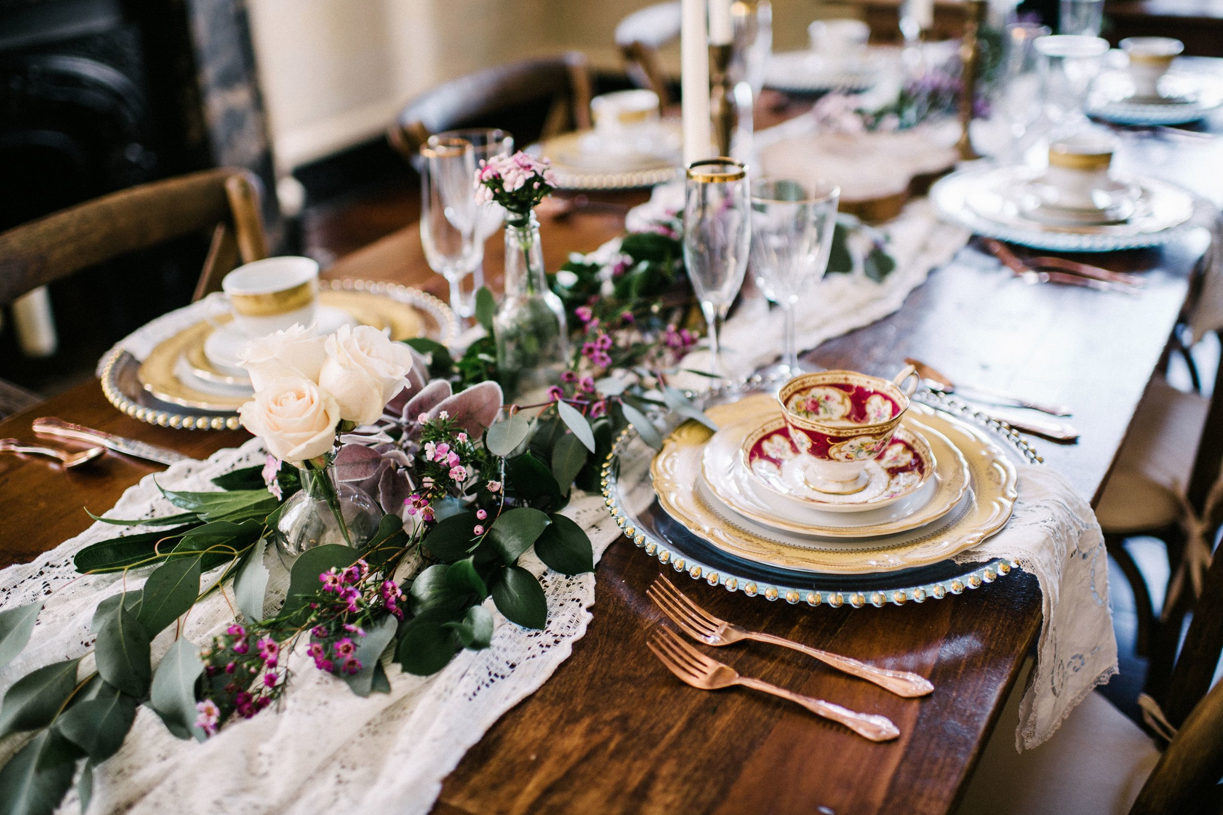 Layered Tablescapes