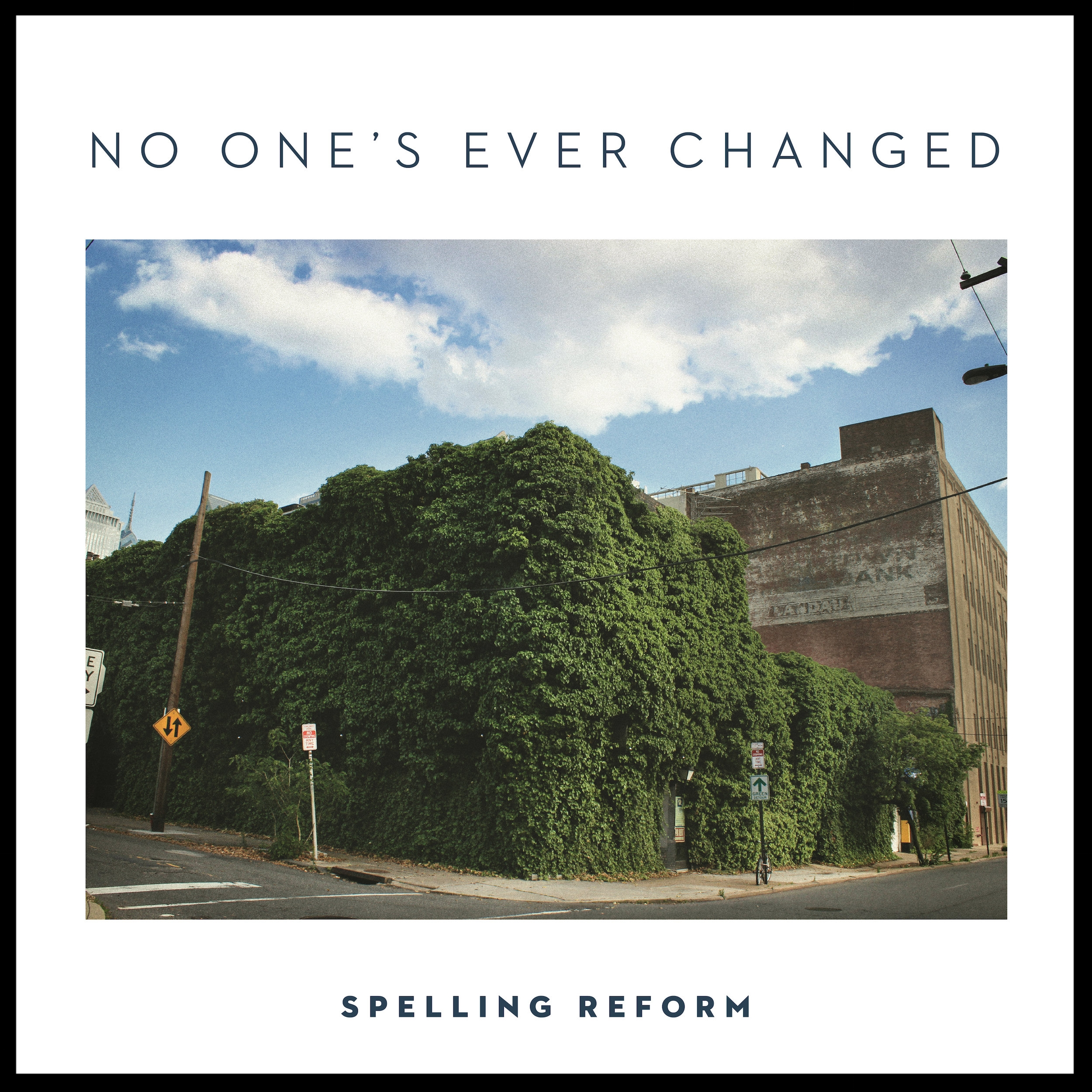 spelling reform - No one's ever changed