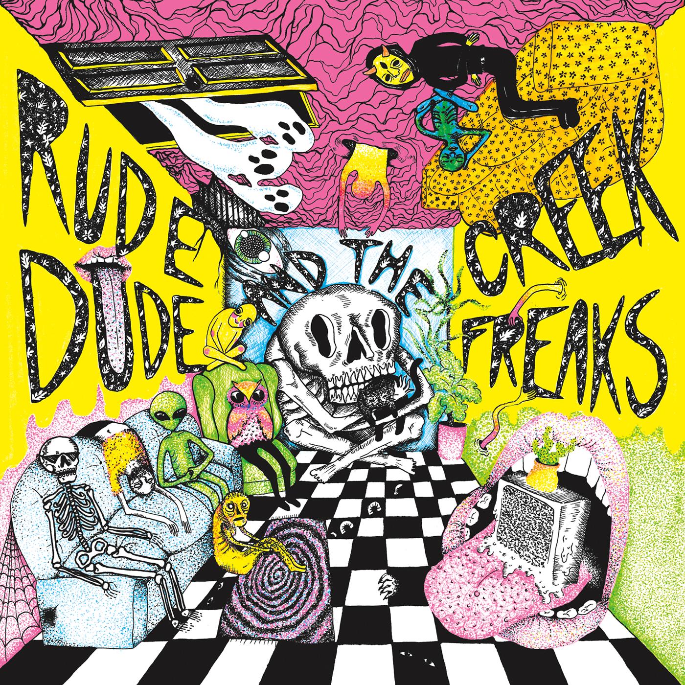 rude dude and the creek freaks - self-titled