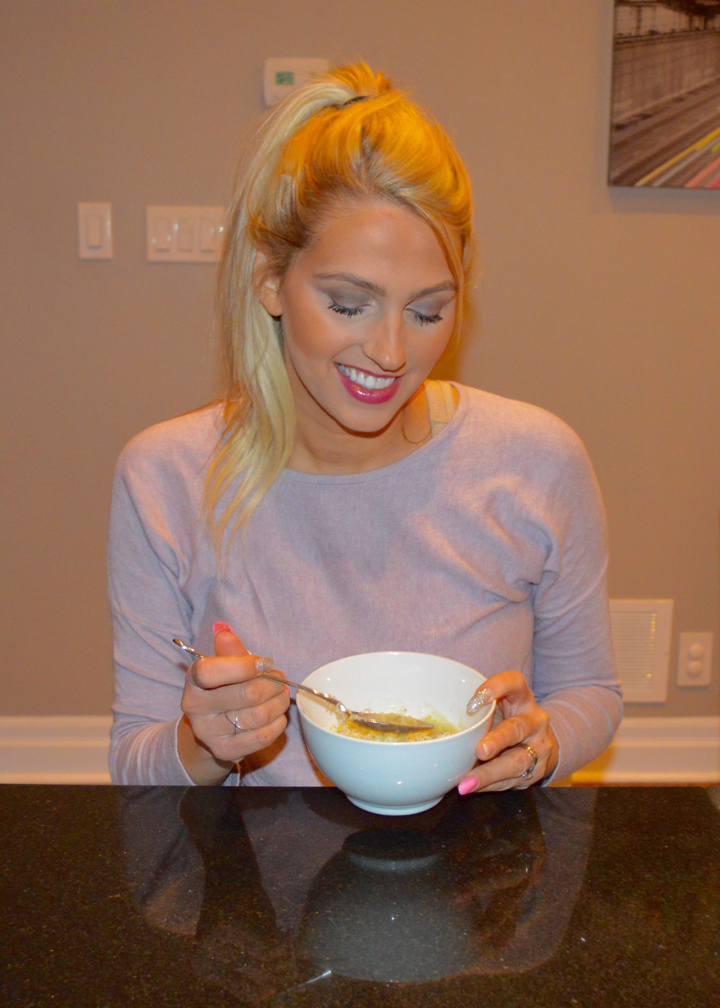 Eating the soup a day after cooking it, gives it the most flavour!!