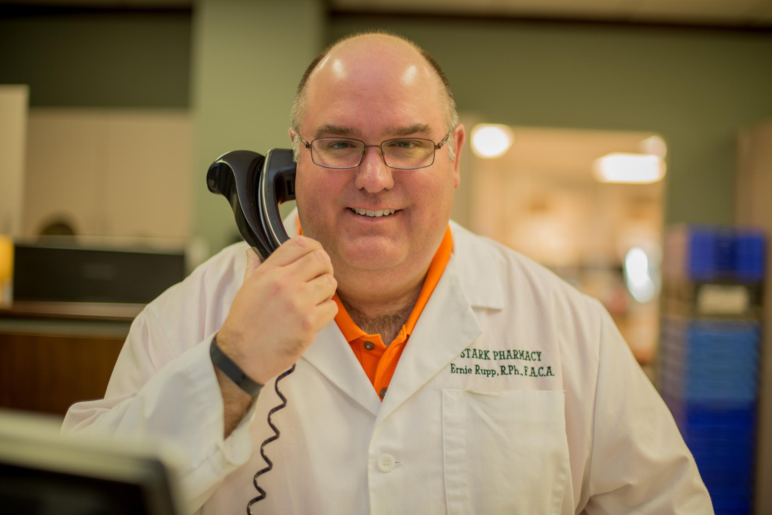 Ernie Rupp  Pharmacist