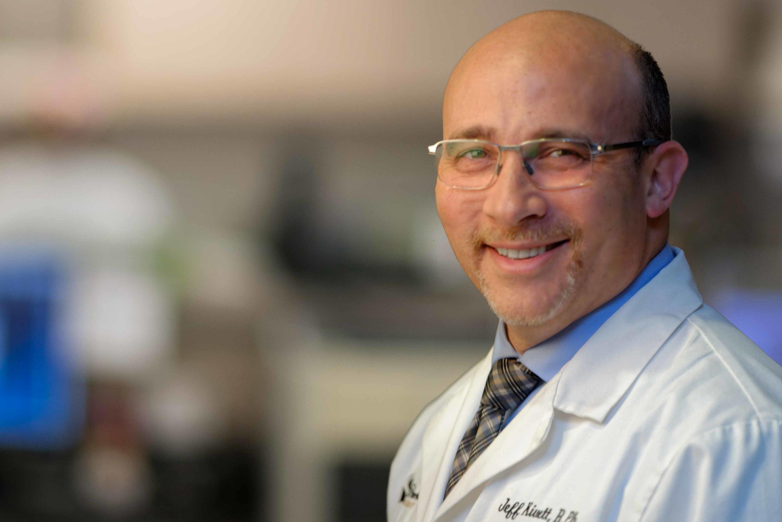 Jeff Kivett  Sterile Lab Manager