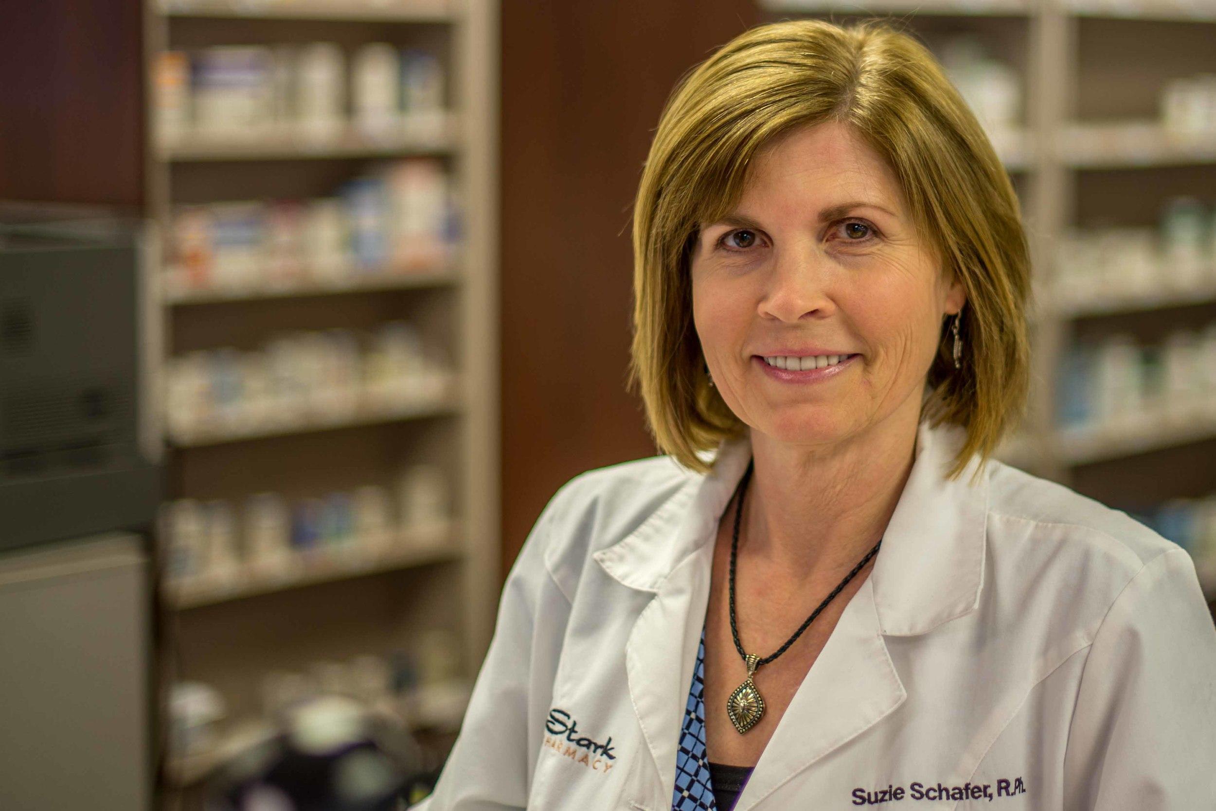 Suzie Schafer  Pharmacist