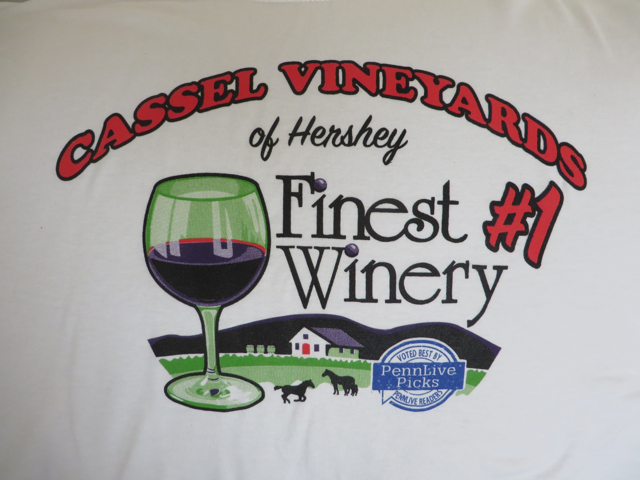 One of our many favorite memories from 2015 was your selection of us as the Pennlive finest winery in central PA!