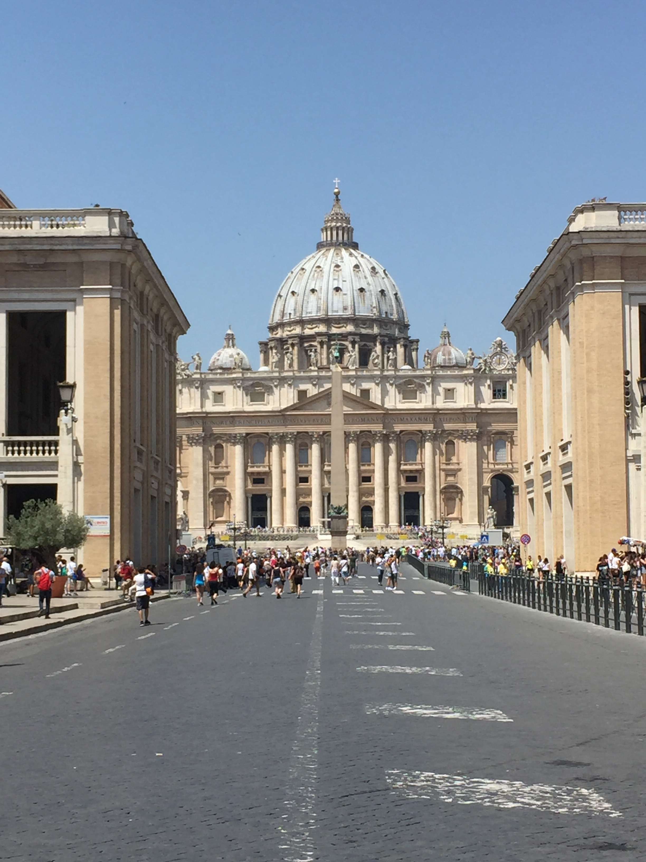 Saint Peters and Vatican Square
