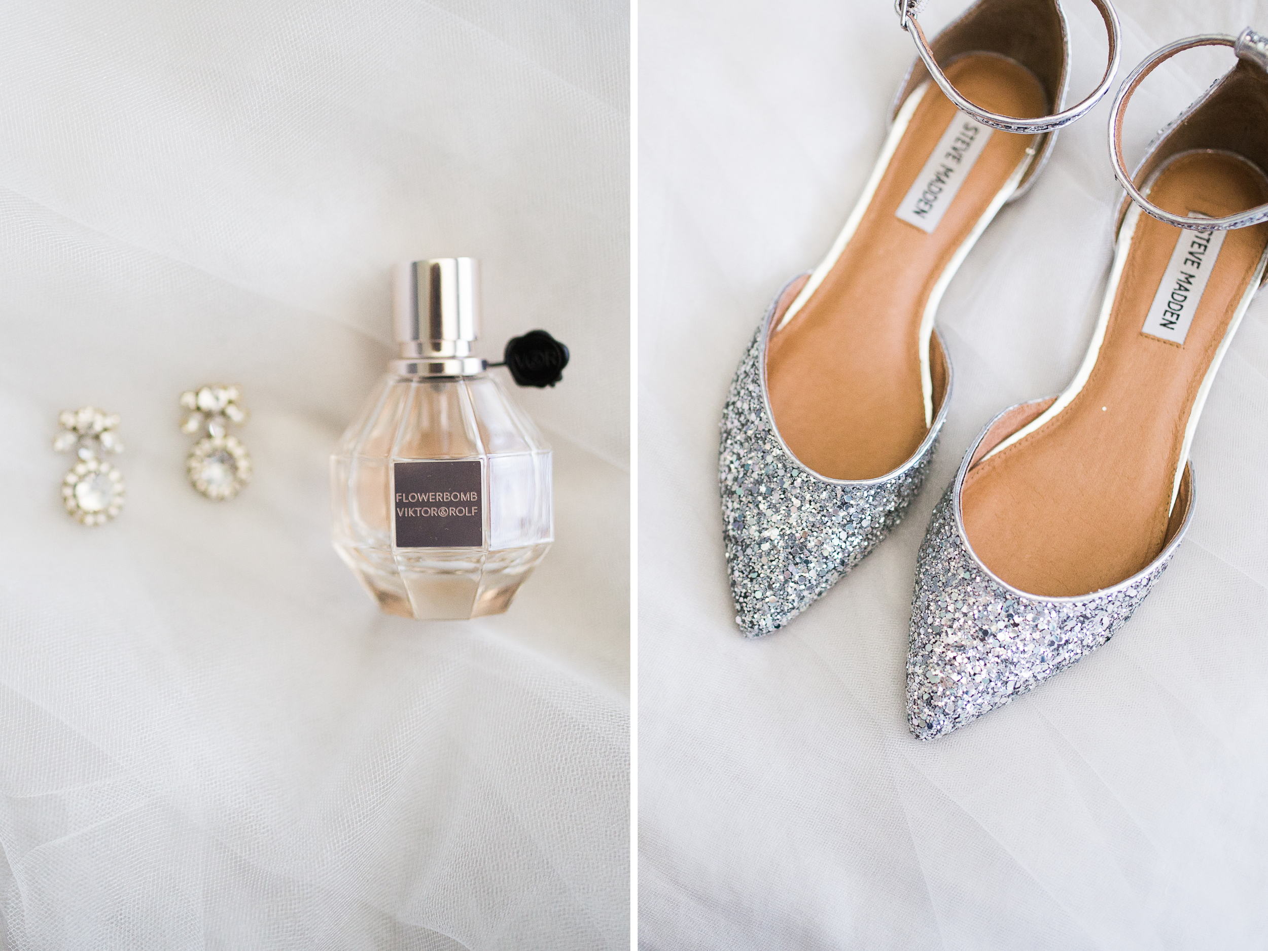 sparkly wedding flats - Coohills