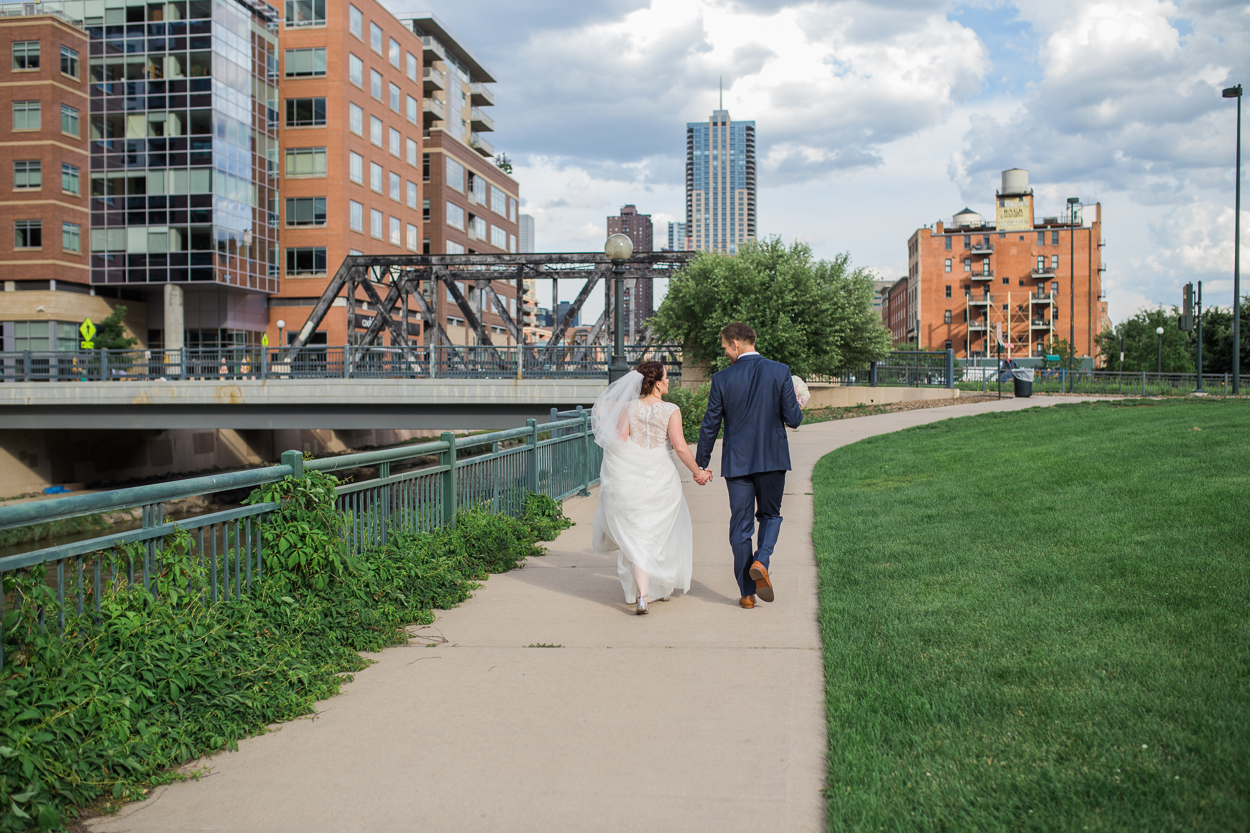 Coohills Wedding Photographer - downtown denver wedding