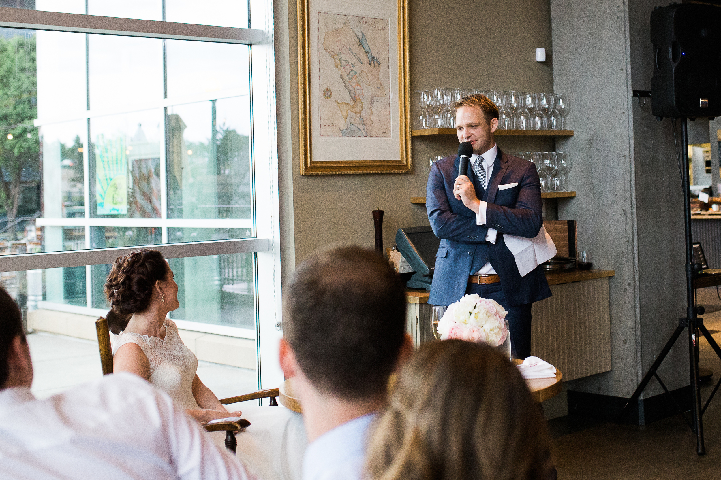 Coohills Wedding Photographer - wedding speech