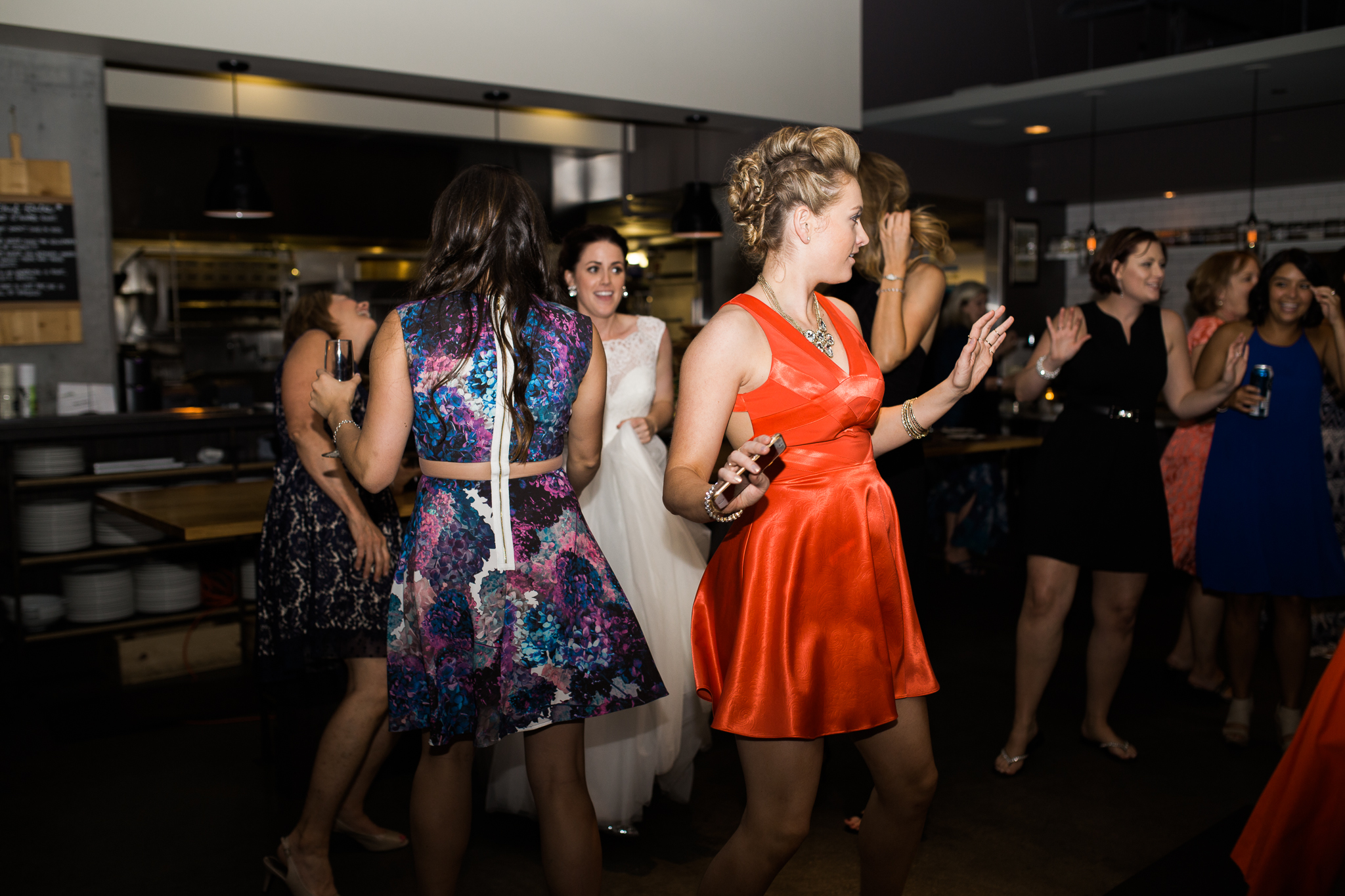Coohills Wedding Photographer - dance party inside Coohills