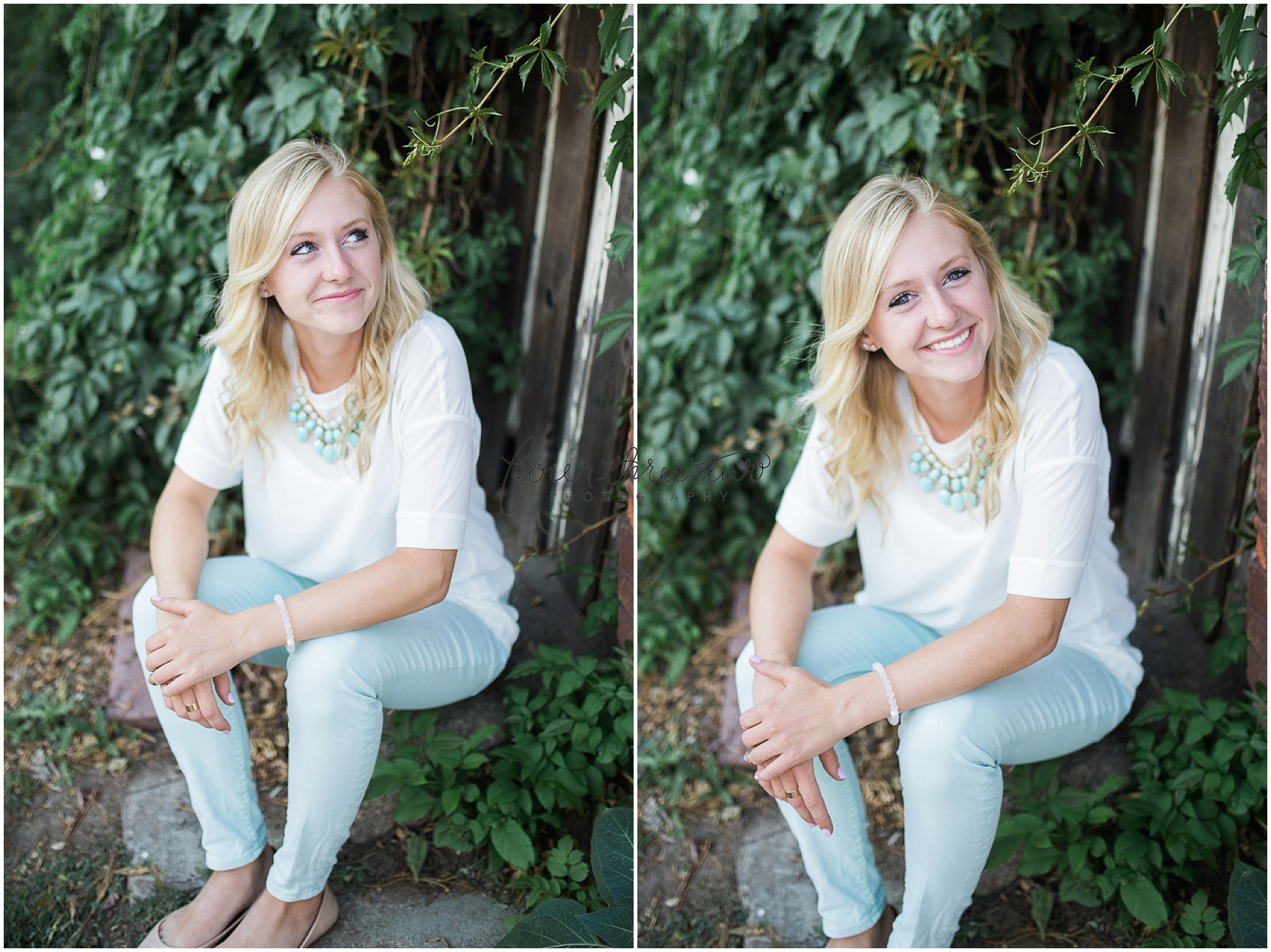 Denver lifestyle senior portraits