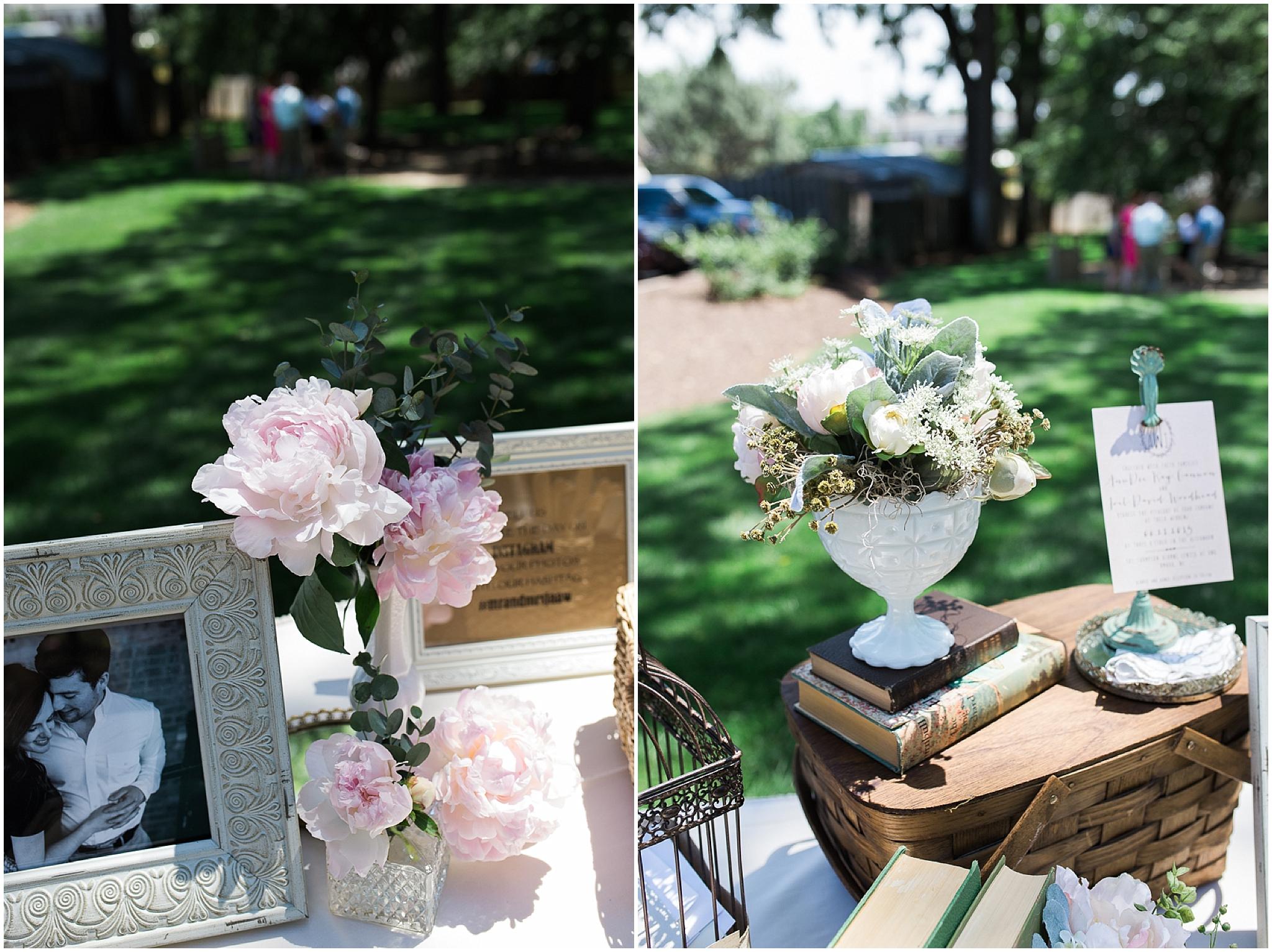 wedding details - UNO Thompson center wedding