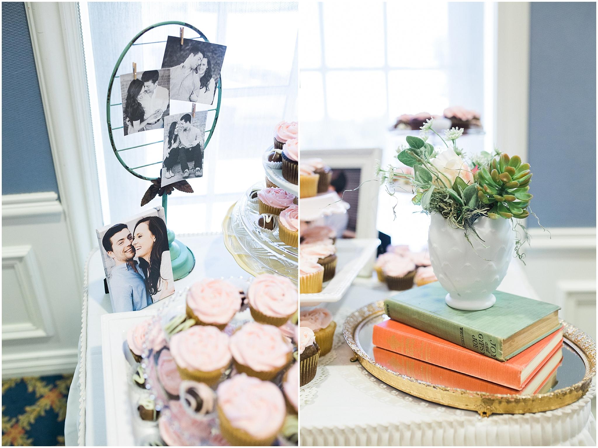 wedding cupcake dessert table