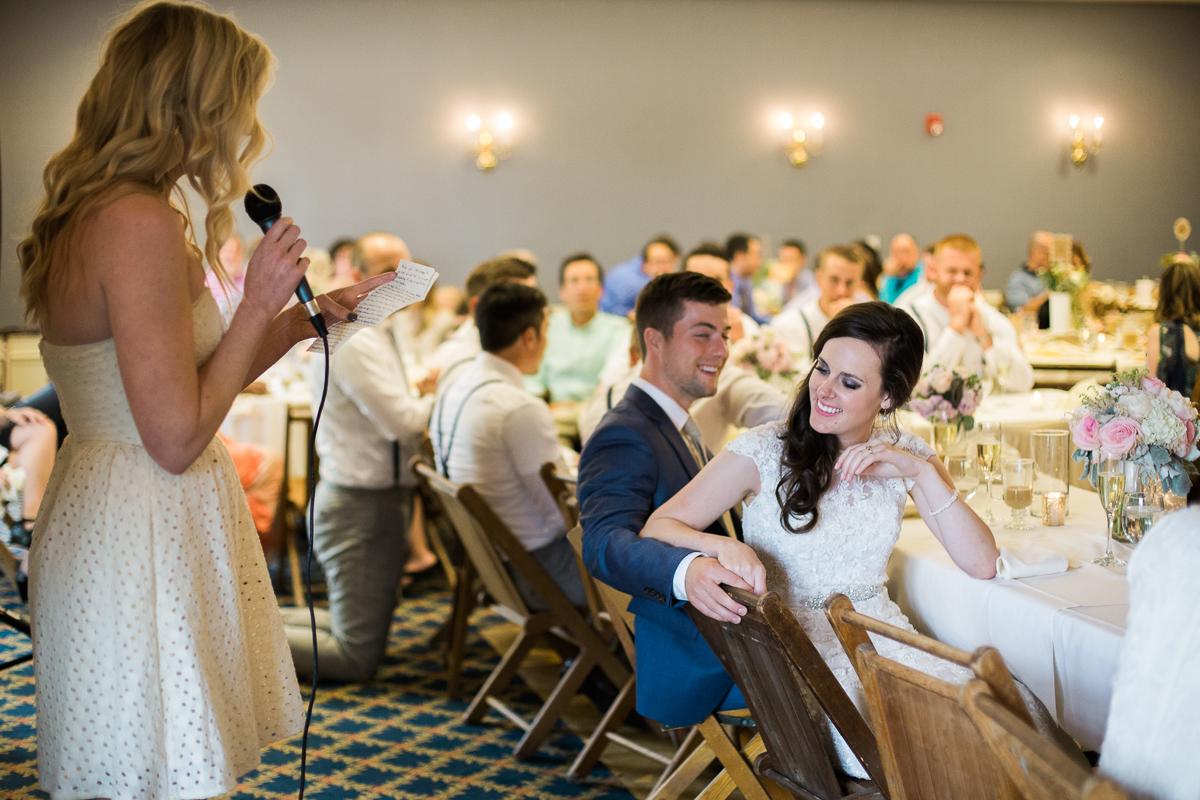 UNO wedding speeches