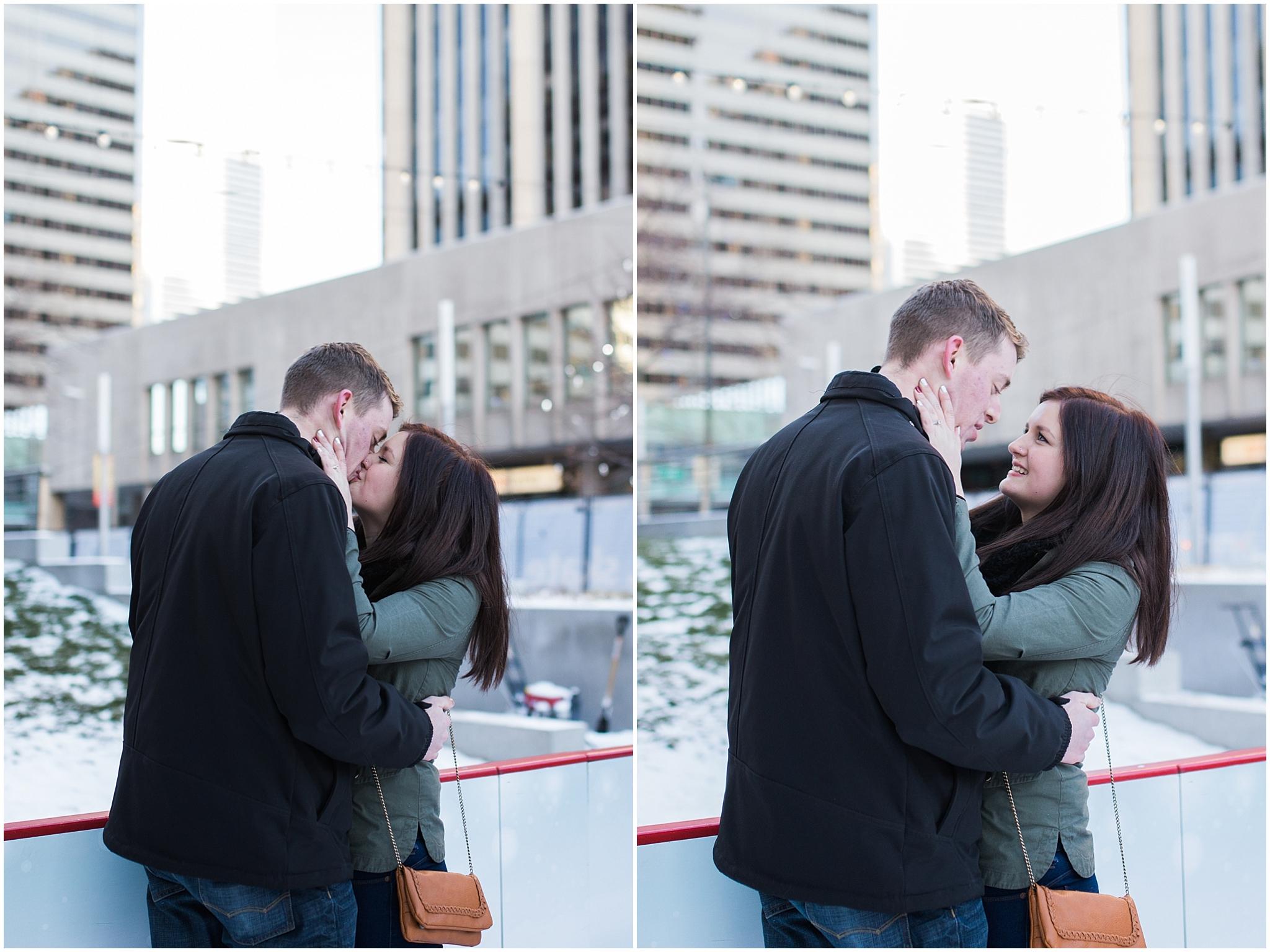 downtown denver wedding proposal