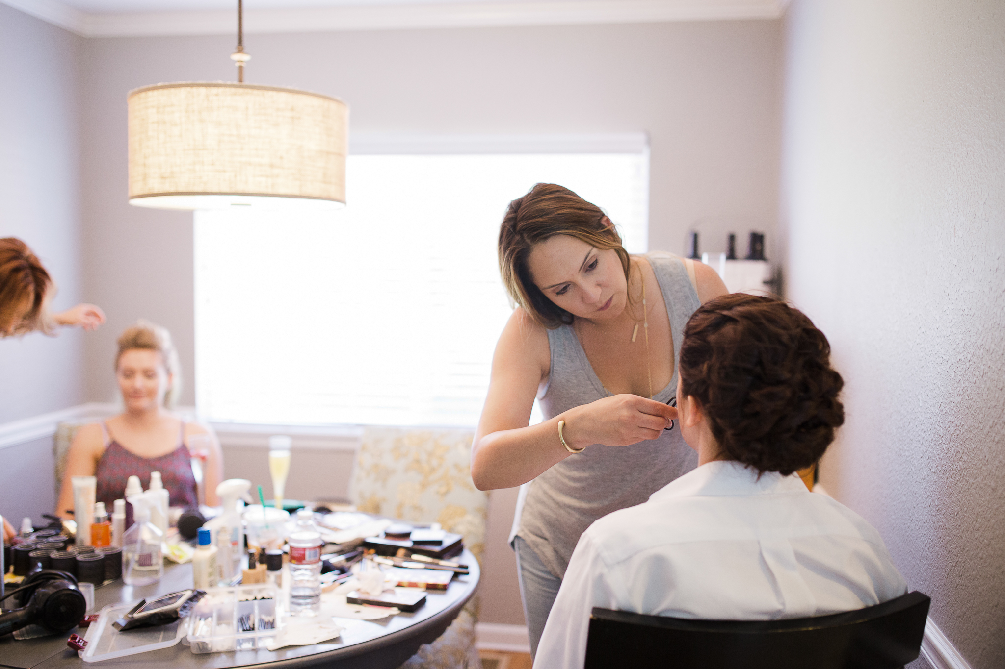 creating a wedding timeline for getting ready