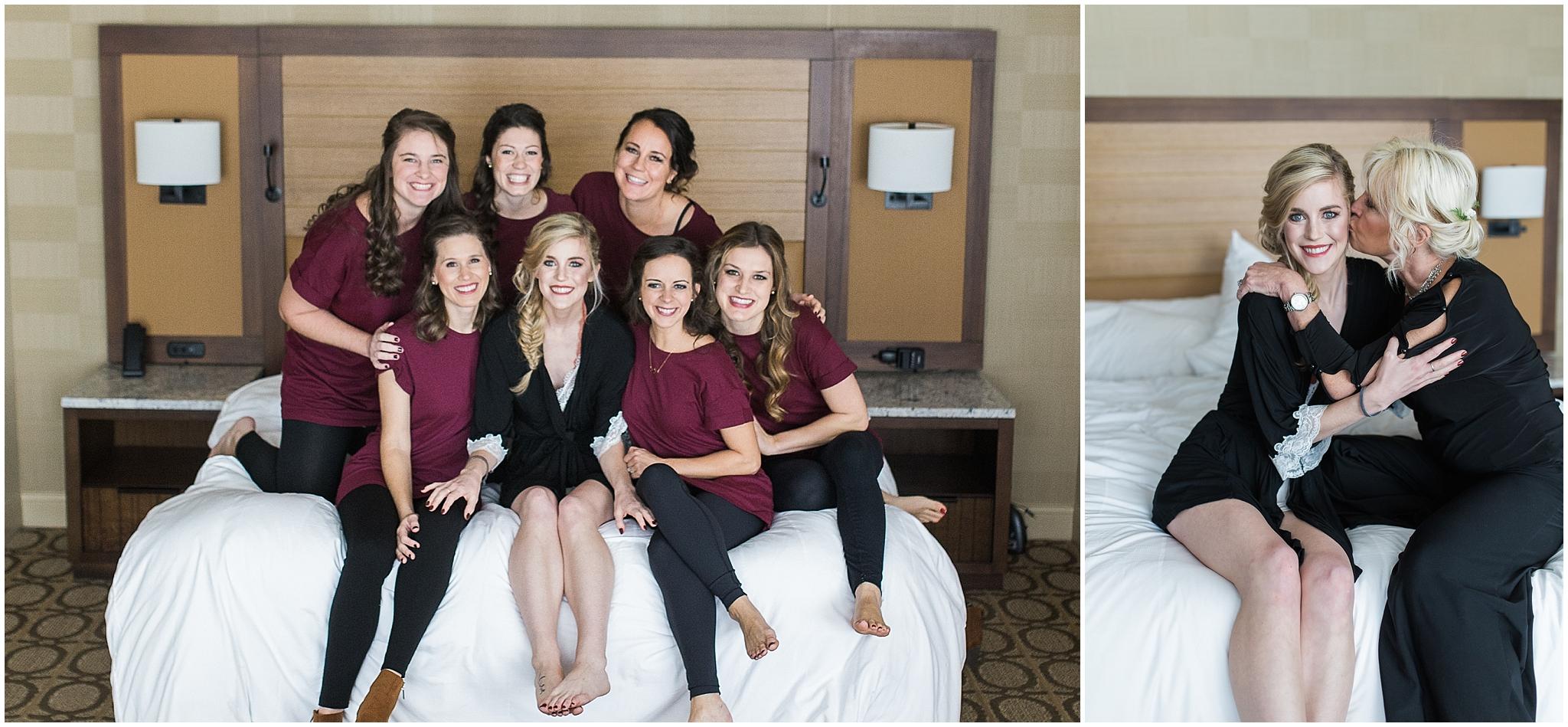 Colorado wedding maroon
