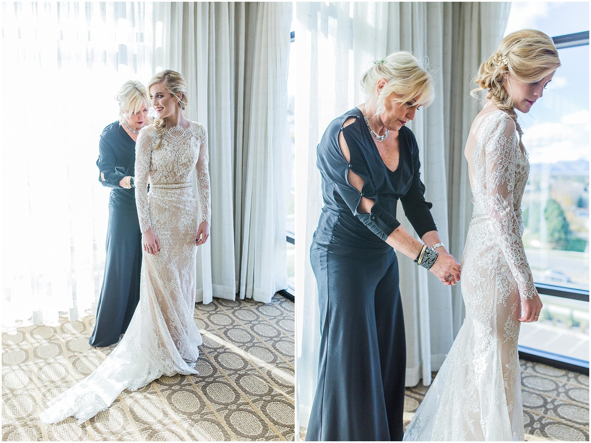 Colorado Bridal gown