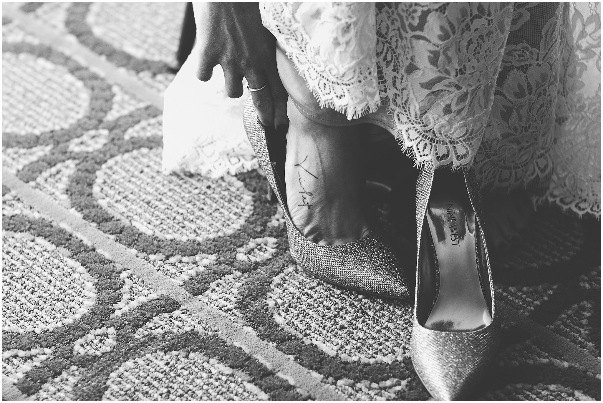 Colorado wedding shoes