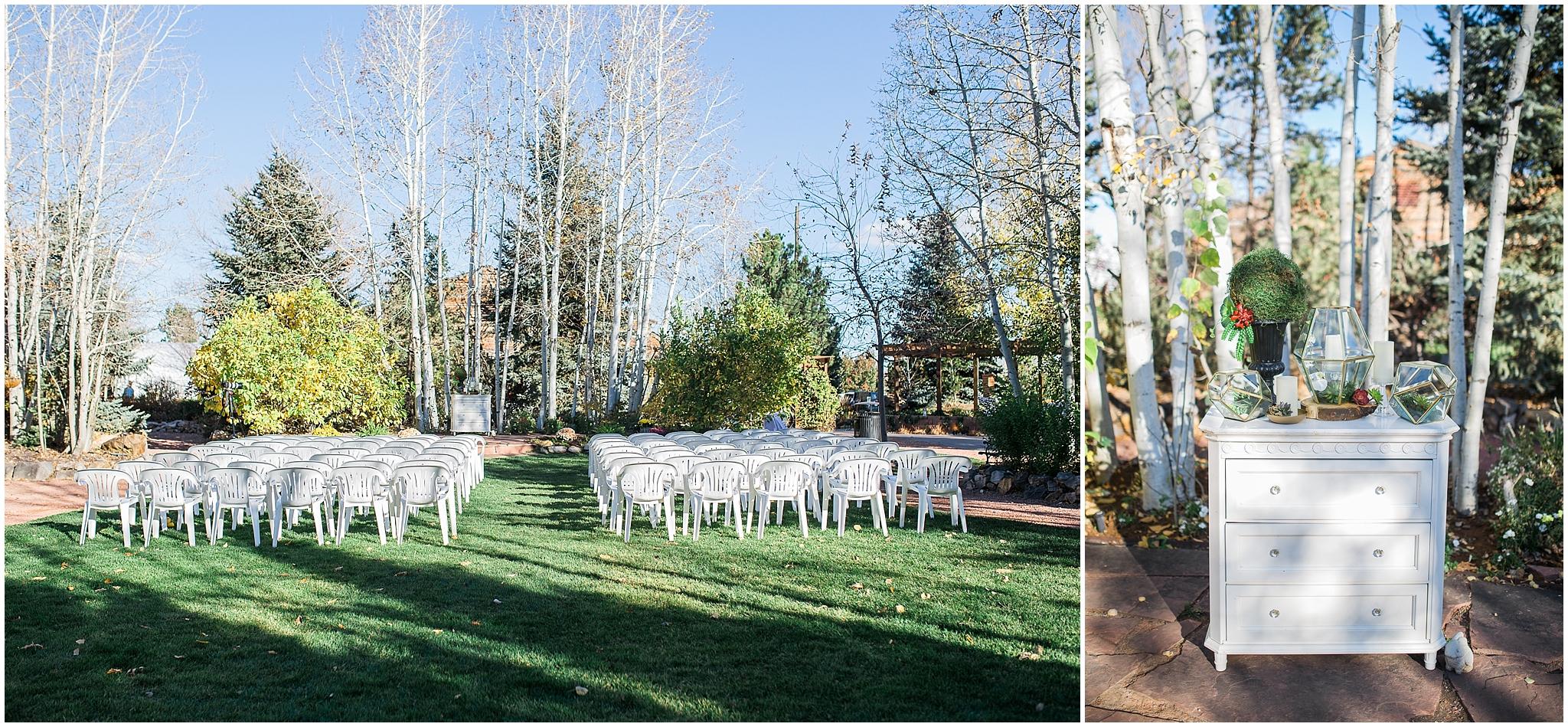 Church Ranch Event Center Fall Wedding