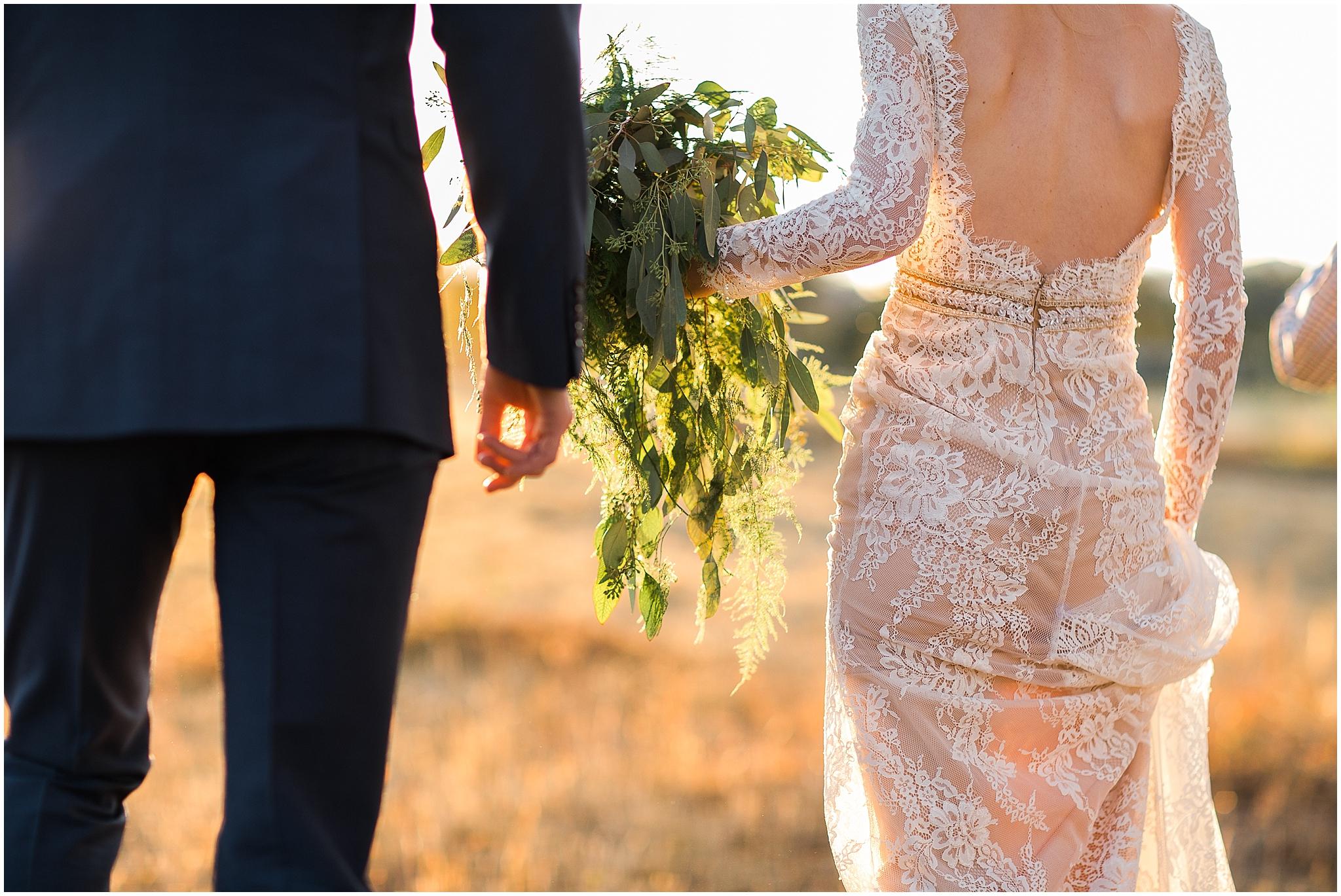 Colorado bride lace dress